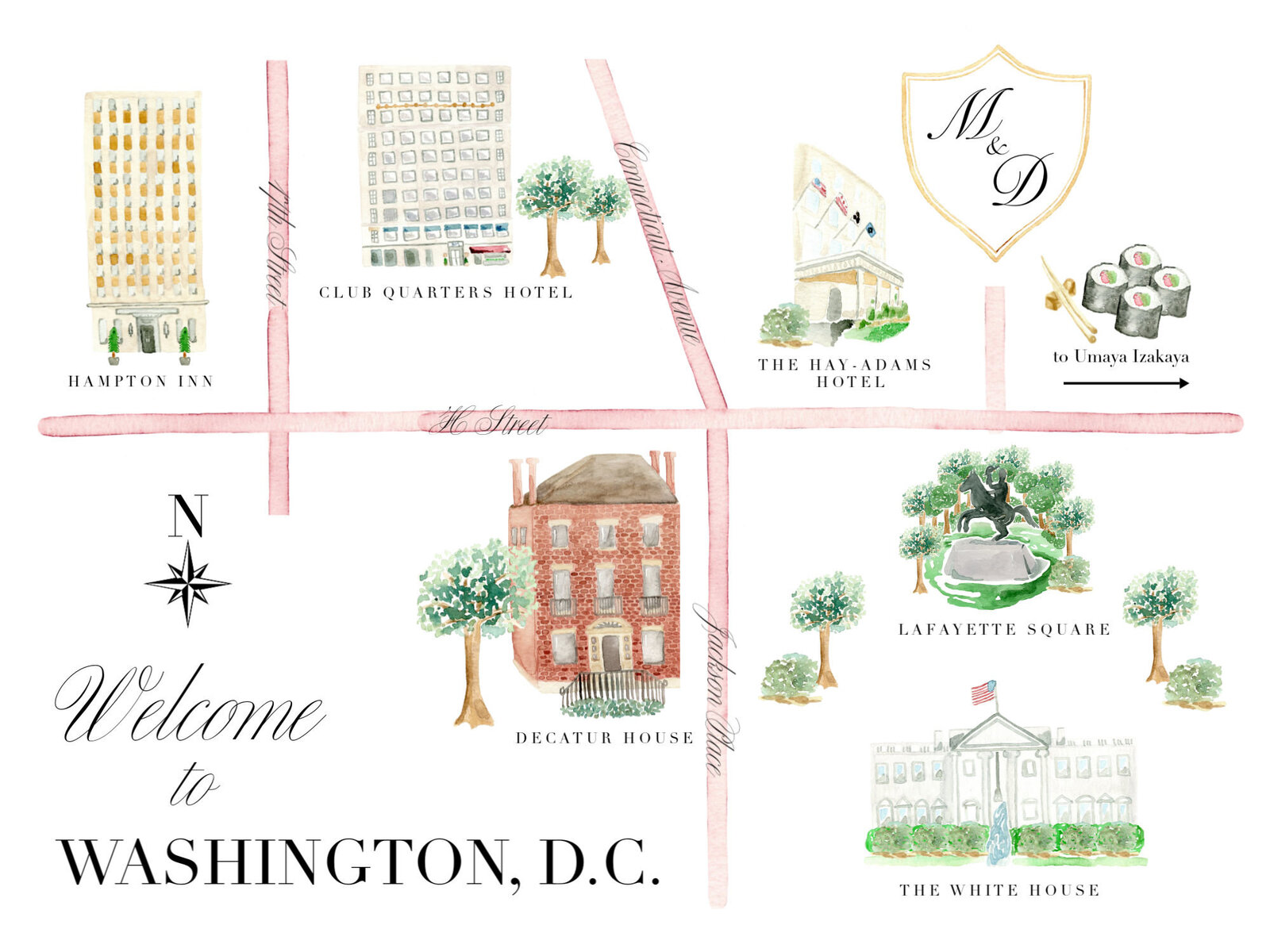 watercolor-map-of-Washington-DC-The-Welcoming-District