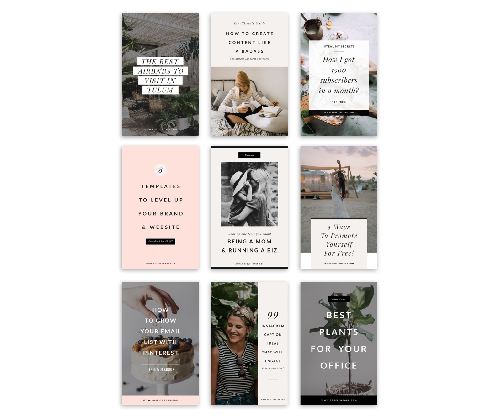 Freebie Pinterest Mock opt2