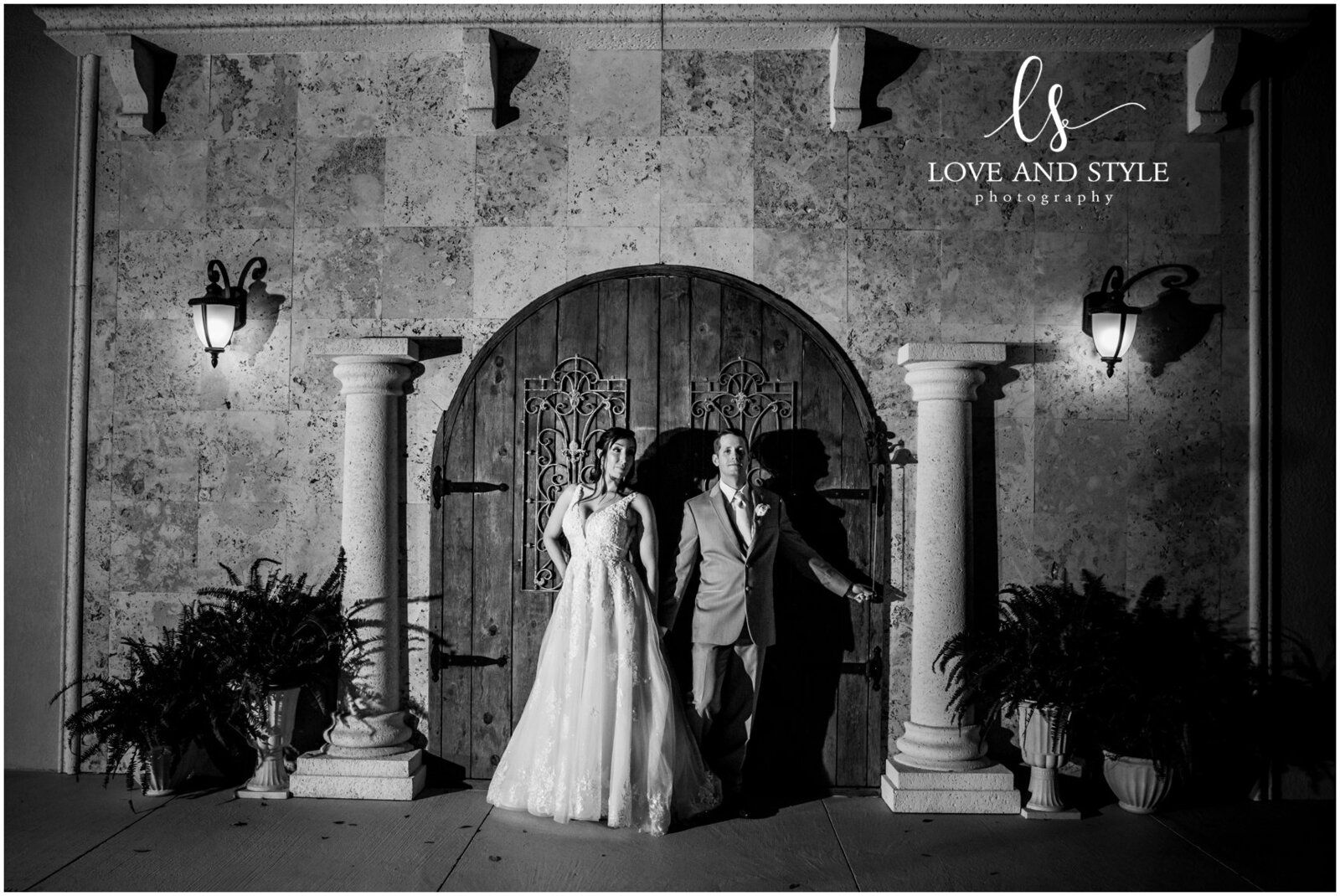 A wedding at Baker's Ranch, Parrish, FL