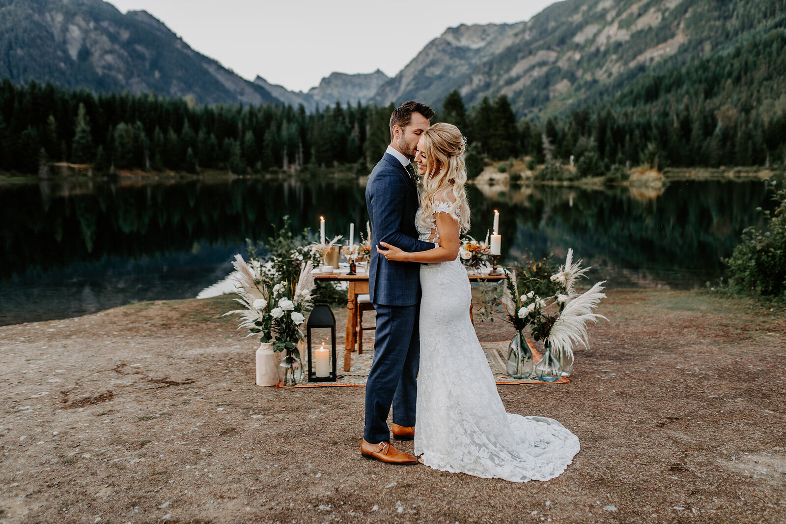 Gold Creek Pond Elopement 11