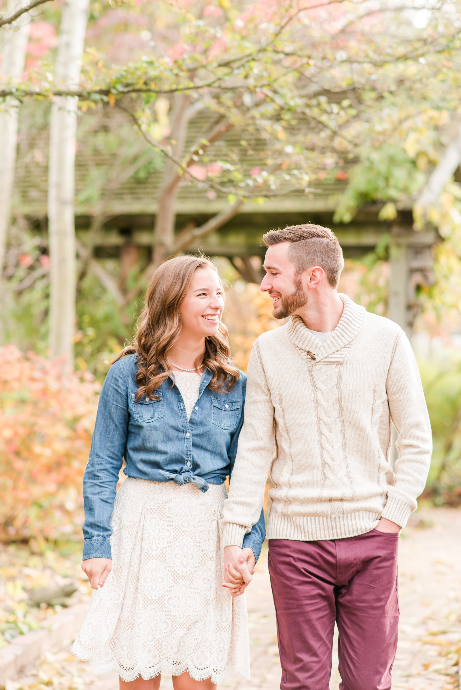 Engagement Session at Defries Gardens