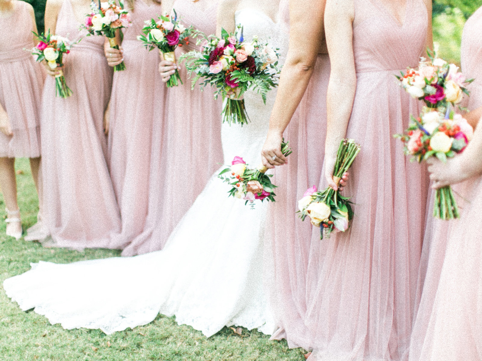 Christa O'Brien Photography Georgia Wedding photographer fine art film   blush party