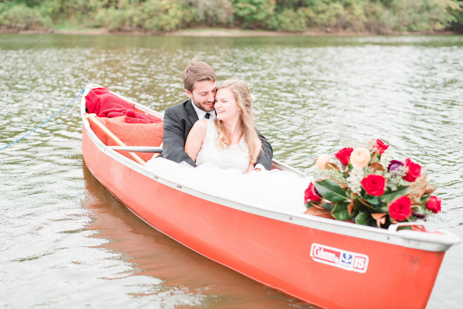Cait Potter Creative LLC Final Version Canoe Adventure Wedding -11