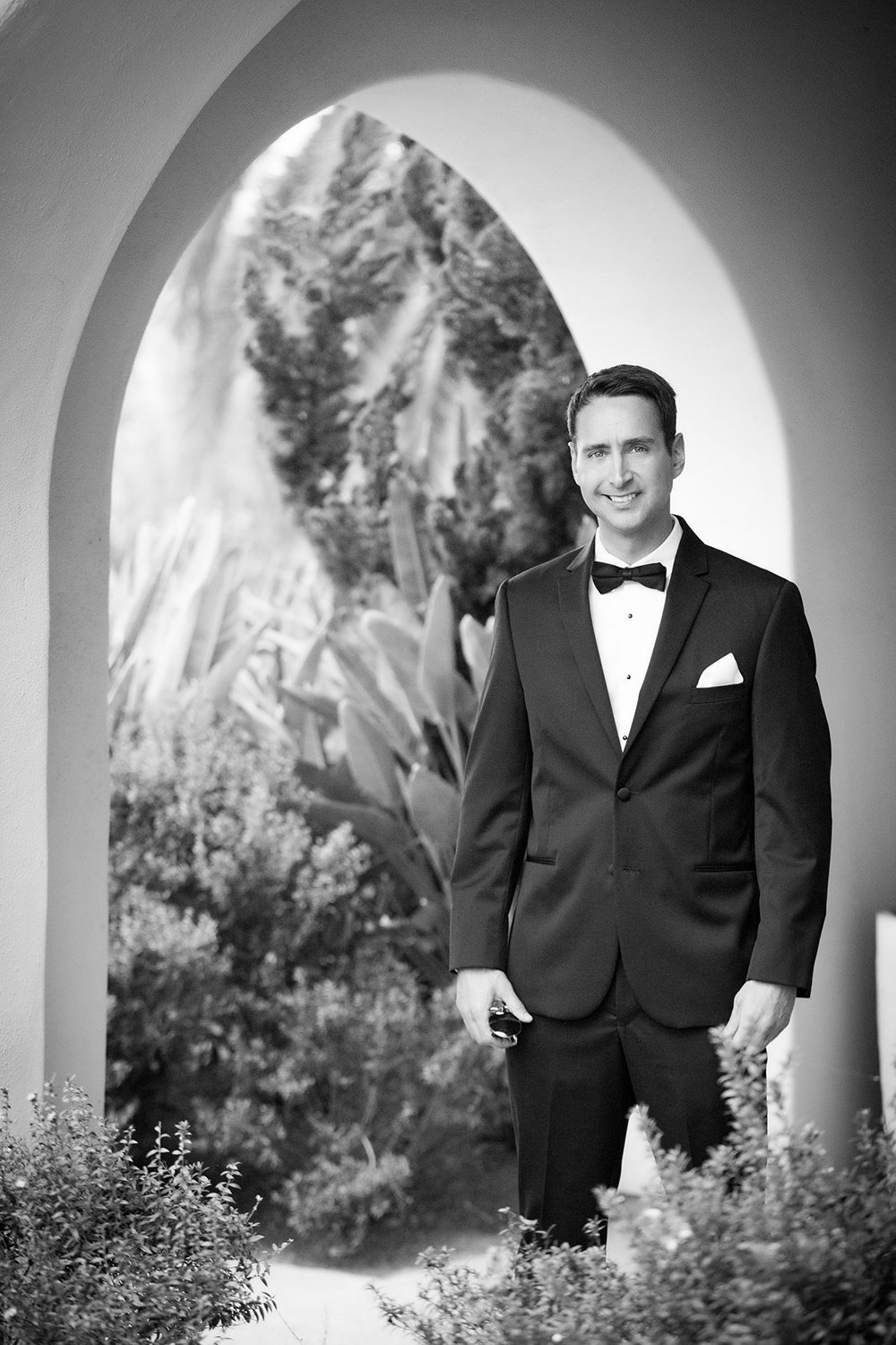 Estancia Wedding portrait of a groom