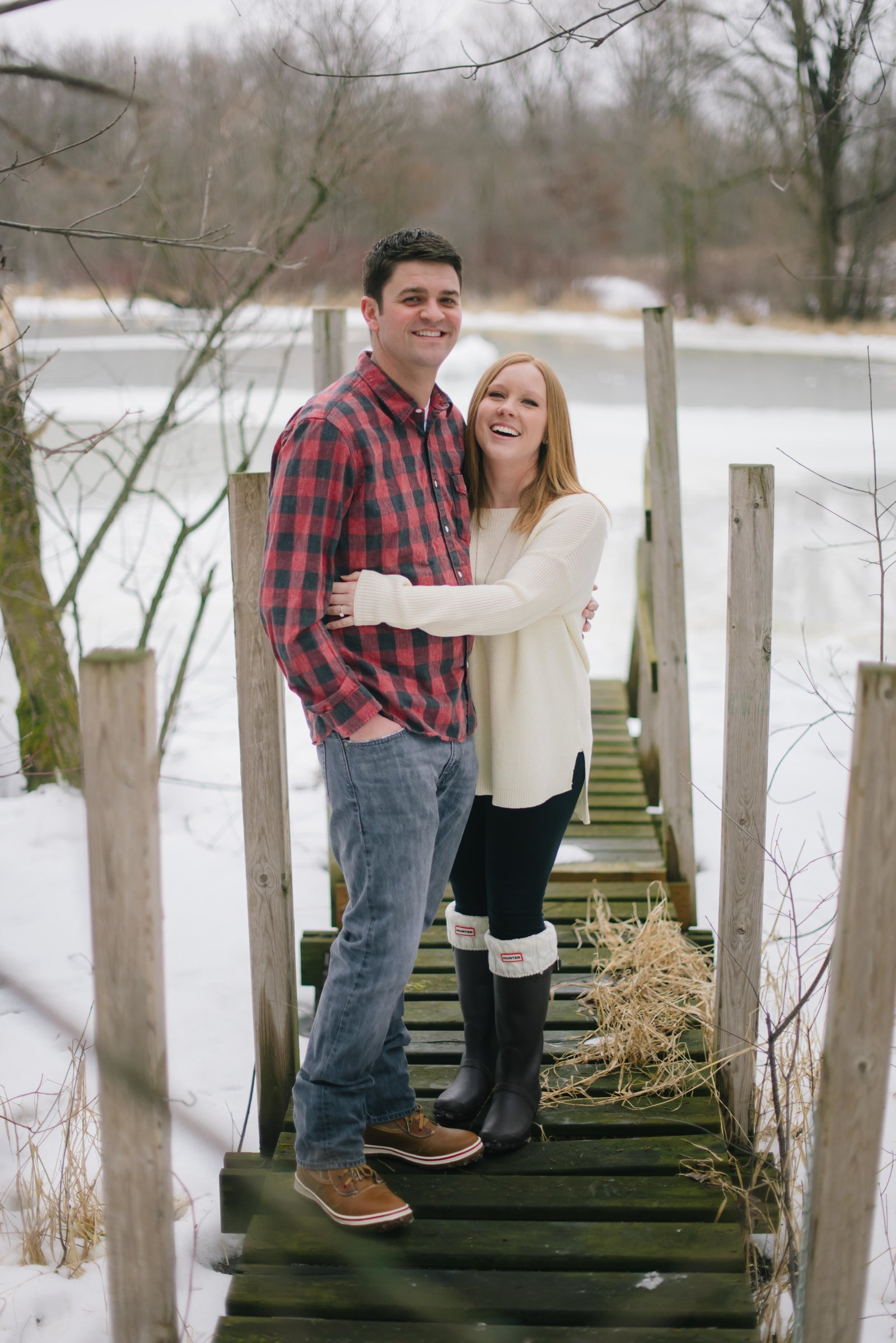 Minnesota Winter Engagement Photos 0899