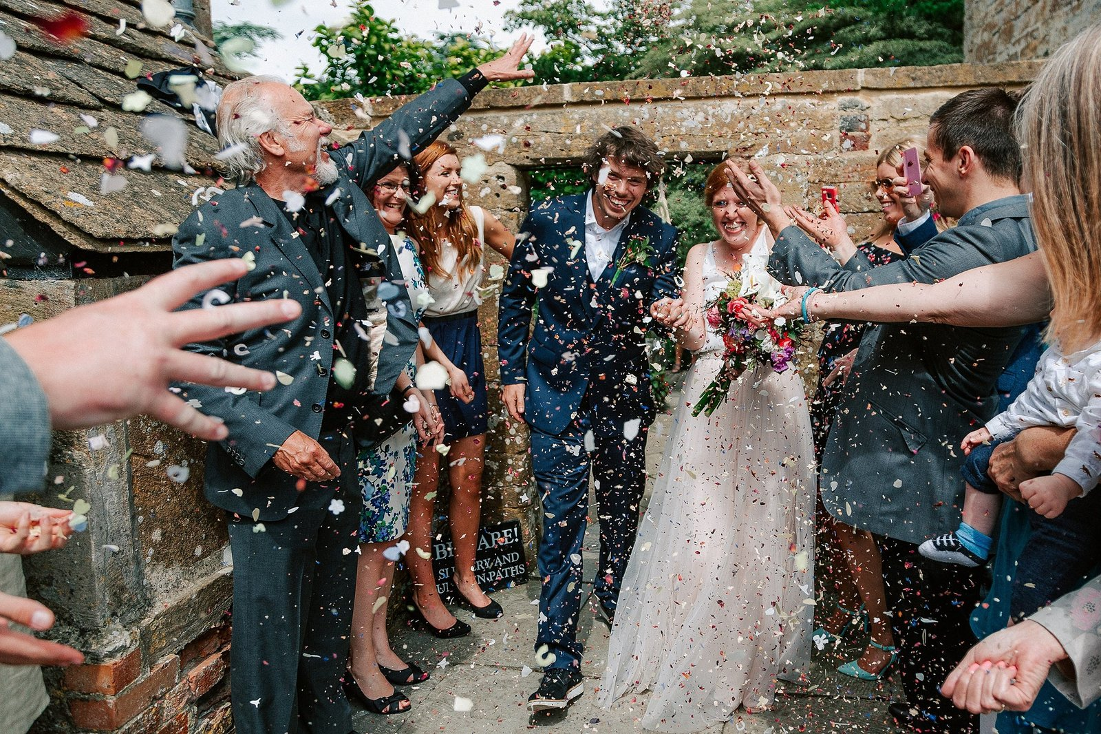 Amy and Ned's Somerset wedding