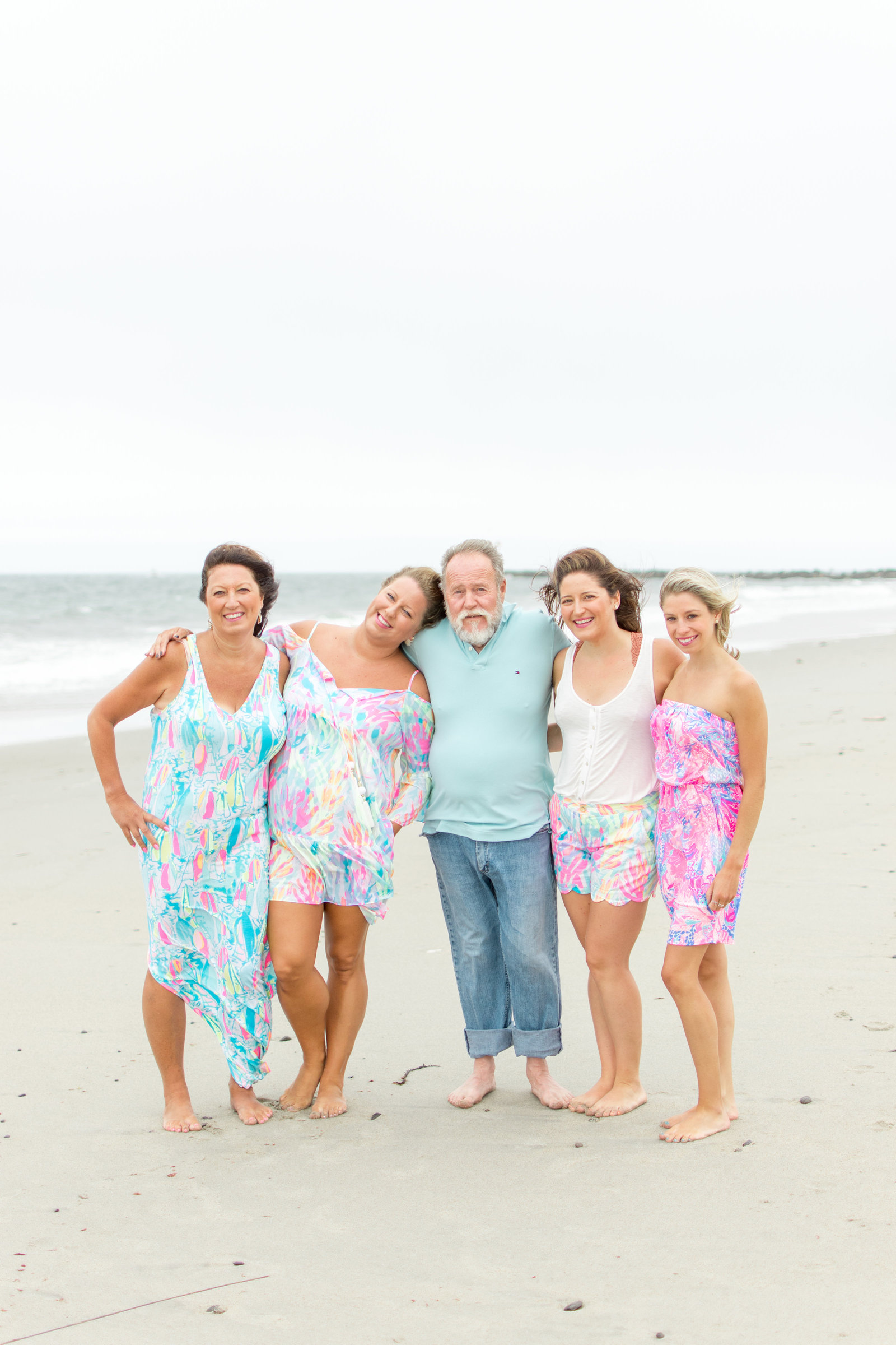 Lilly Pulitzer Beach Family