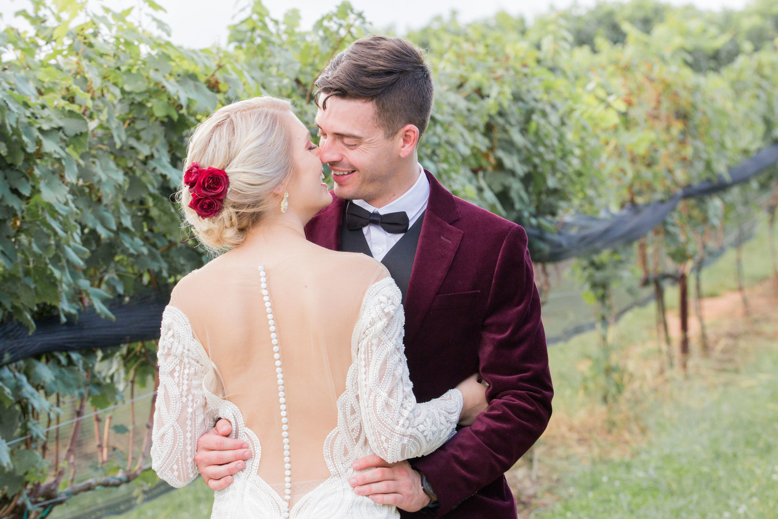 Nashville Wedding Photography | Wedding Vineyard Glam
