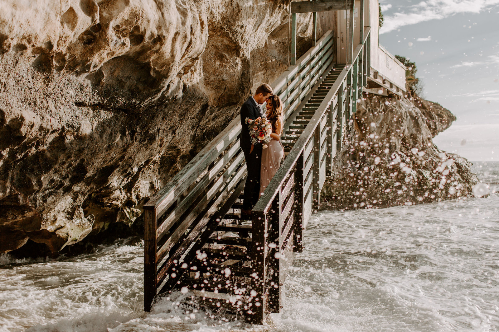 Laguna Beach Elopement by Skyler & Vhan