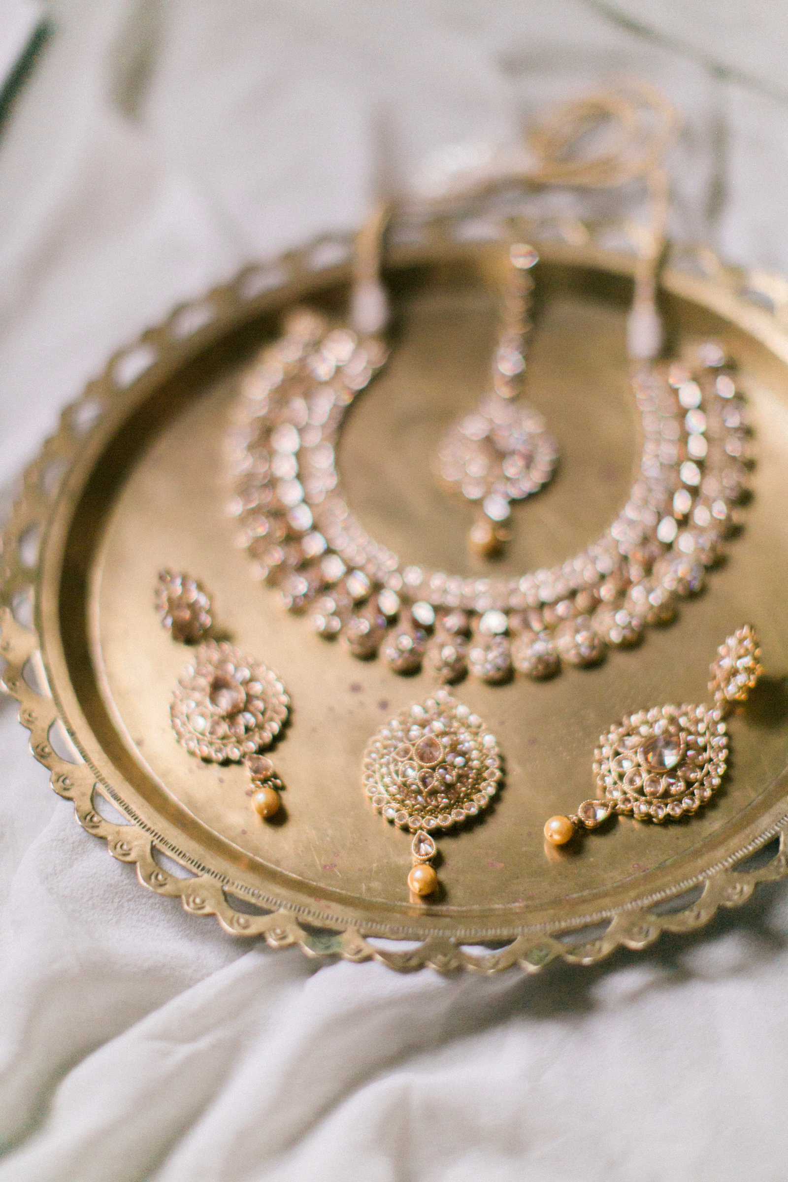 Christa O'Brien Photography Georgia Wedding photographer fine art film  atlanta georgia indian wedding jewelry