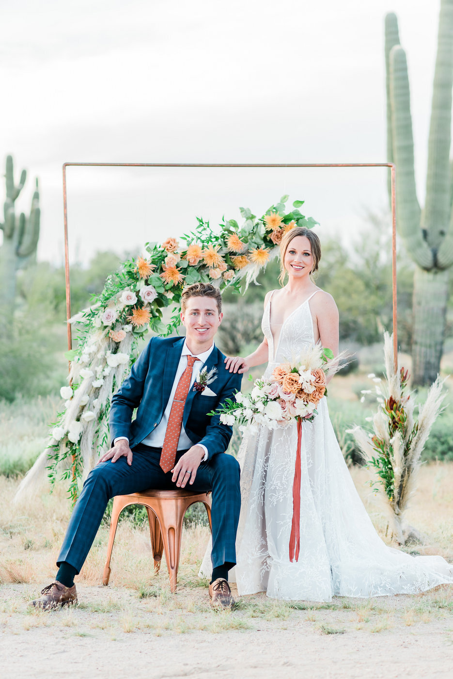 Modern Copper Desert Wedding Styled Shoot 2019-0157