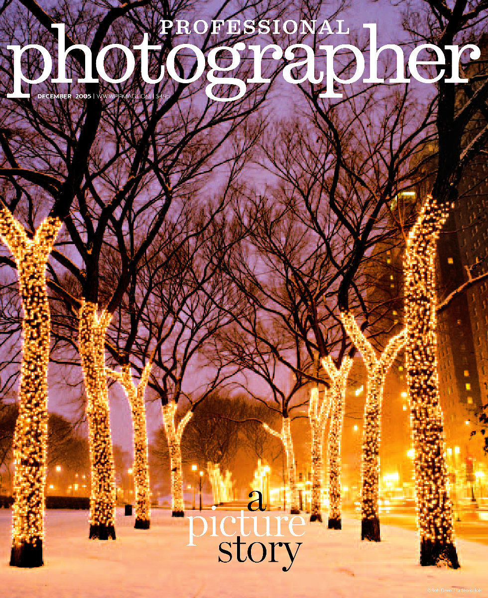 Wow... we are so excited to be a featured photographer for Professional Photographer magazine. Not only did our photograph grace the cover but a wonderful article was written about us by the very talented, Jeff Kent. Our work was being featured in PPA's promotion that year and we were so honored. Thank you so much!
