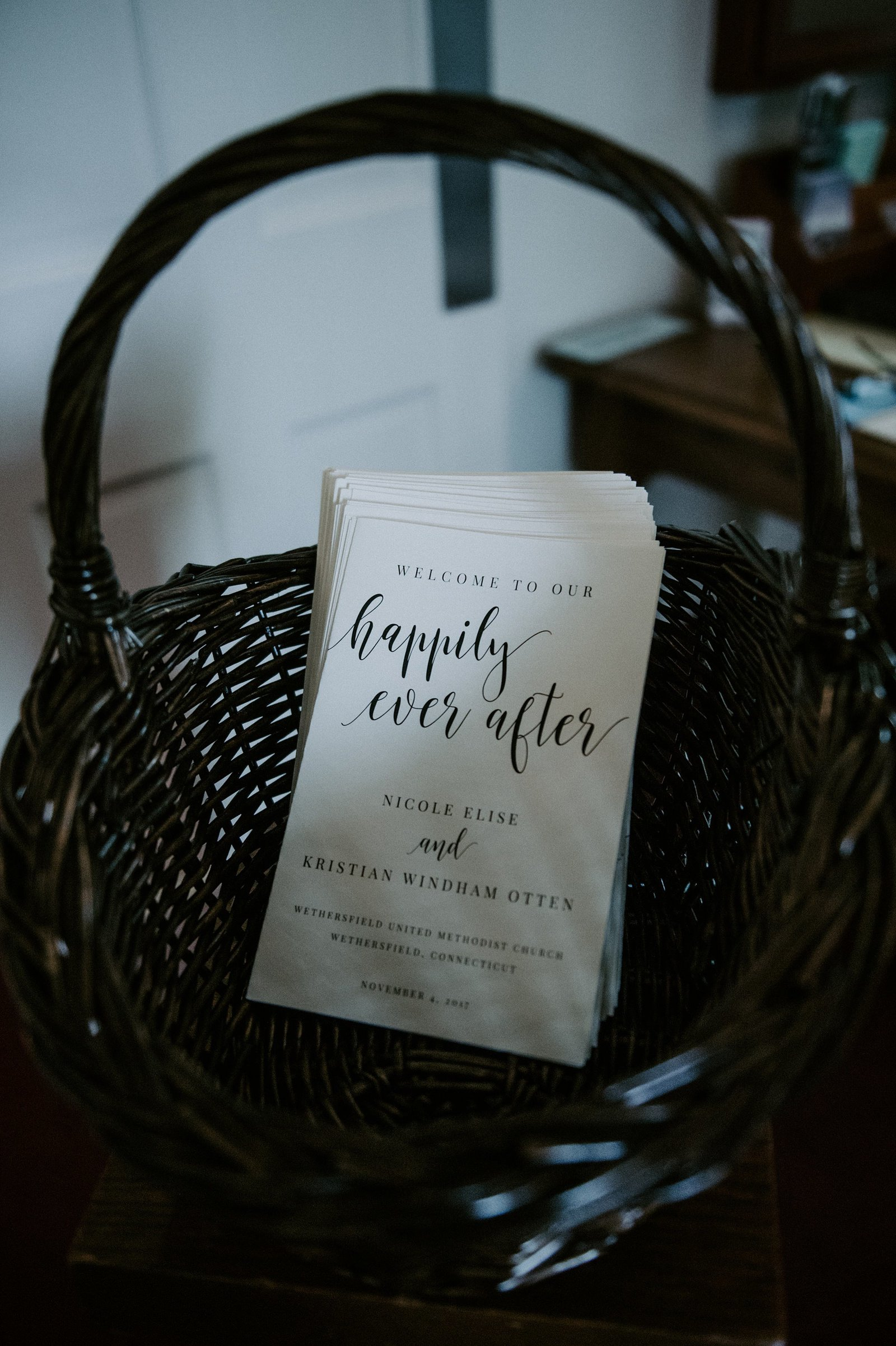 Happily Ever After ceremony programs