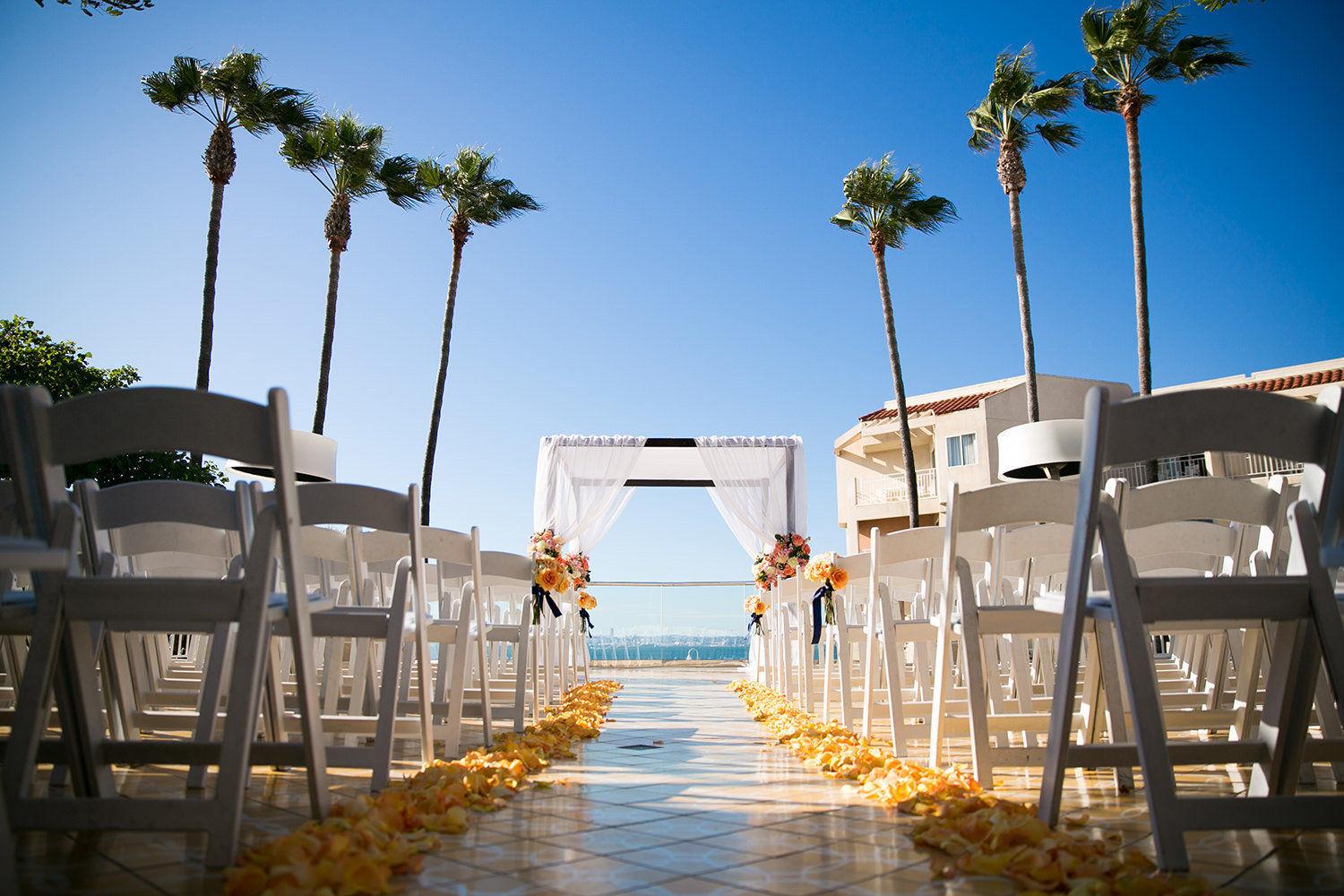 stunning ceremony space at the beautiful loews coronado