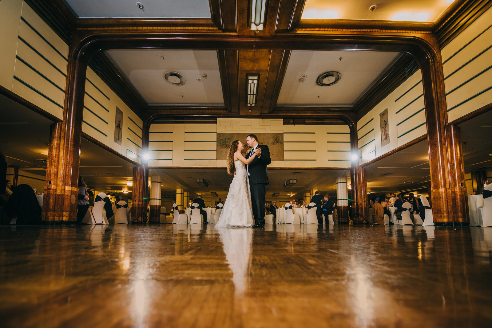queen mary wedding photography reception first dance