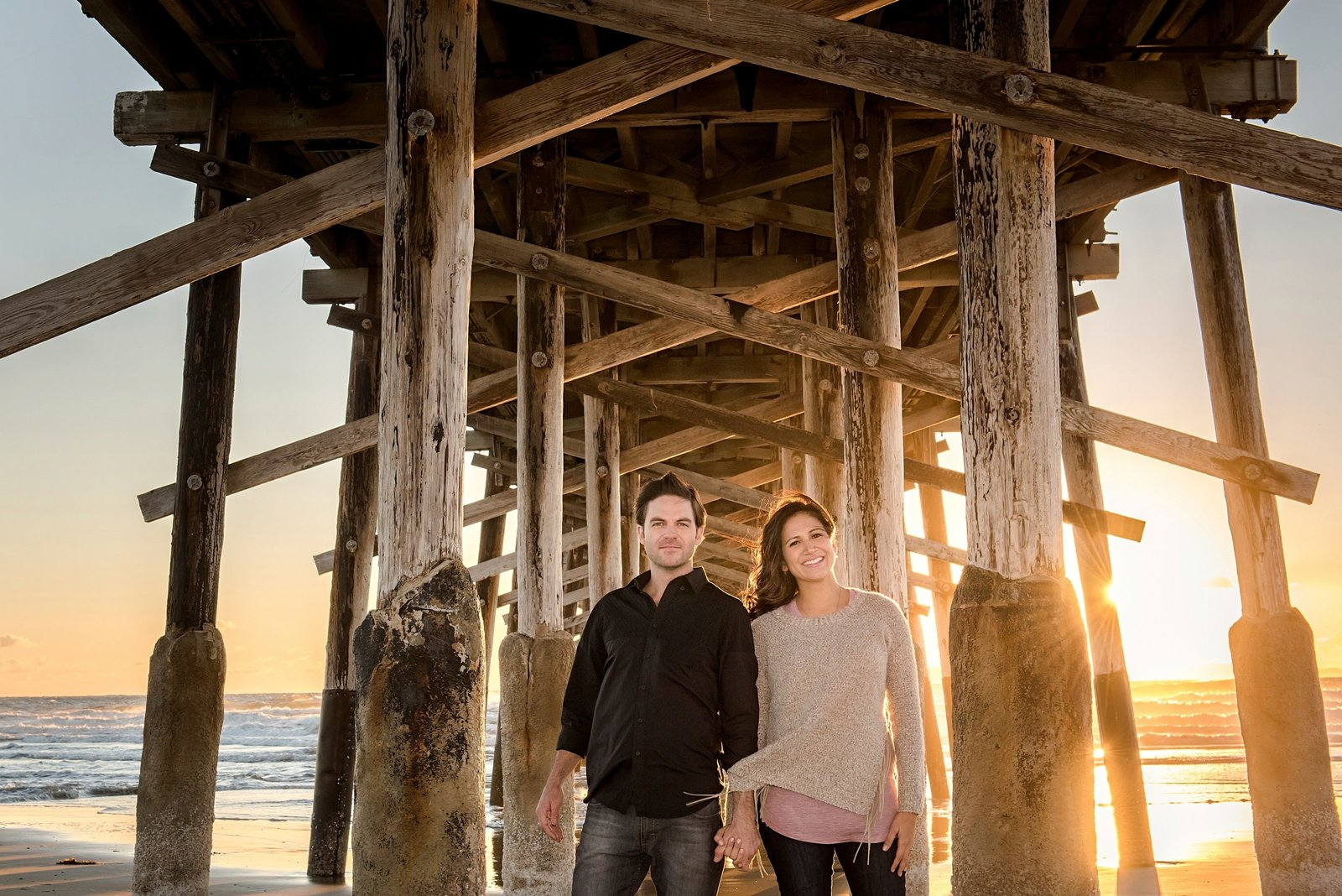 Balboa  Beach Engagement photography