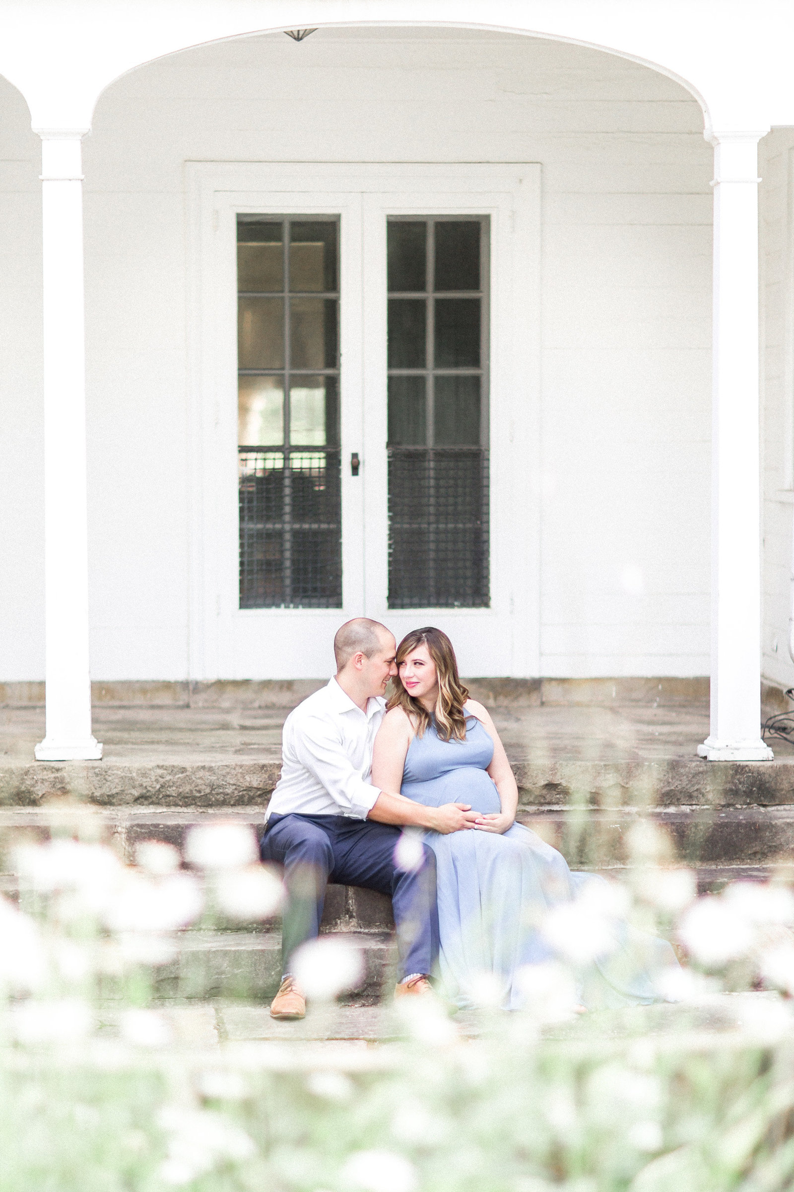 Akron Maternity and Newborn Photographer at Quail Hollow State Park in Hartville