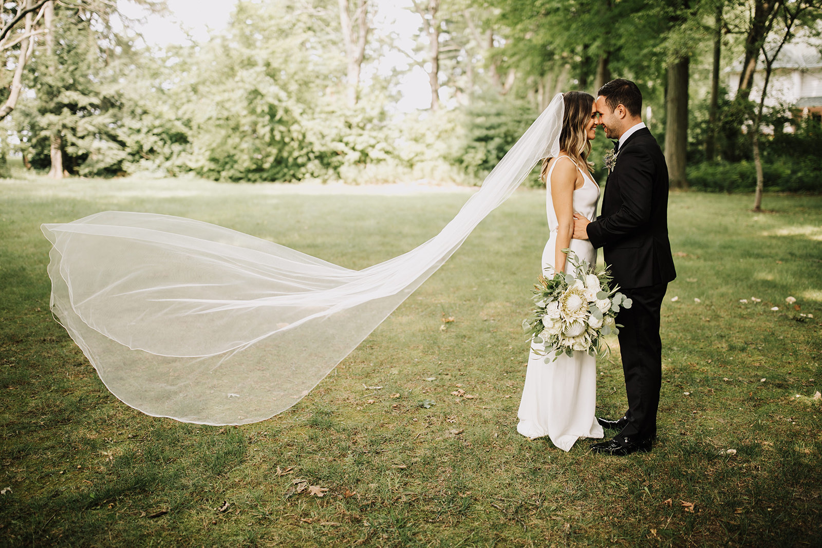 Boho Wedding at Lake Bluff Inn