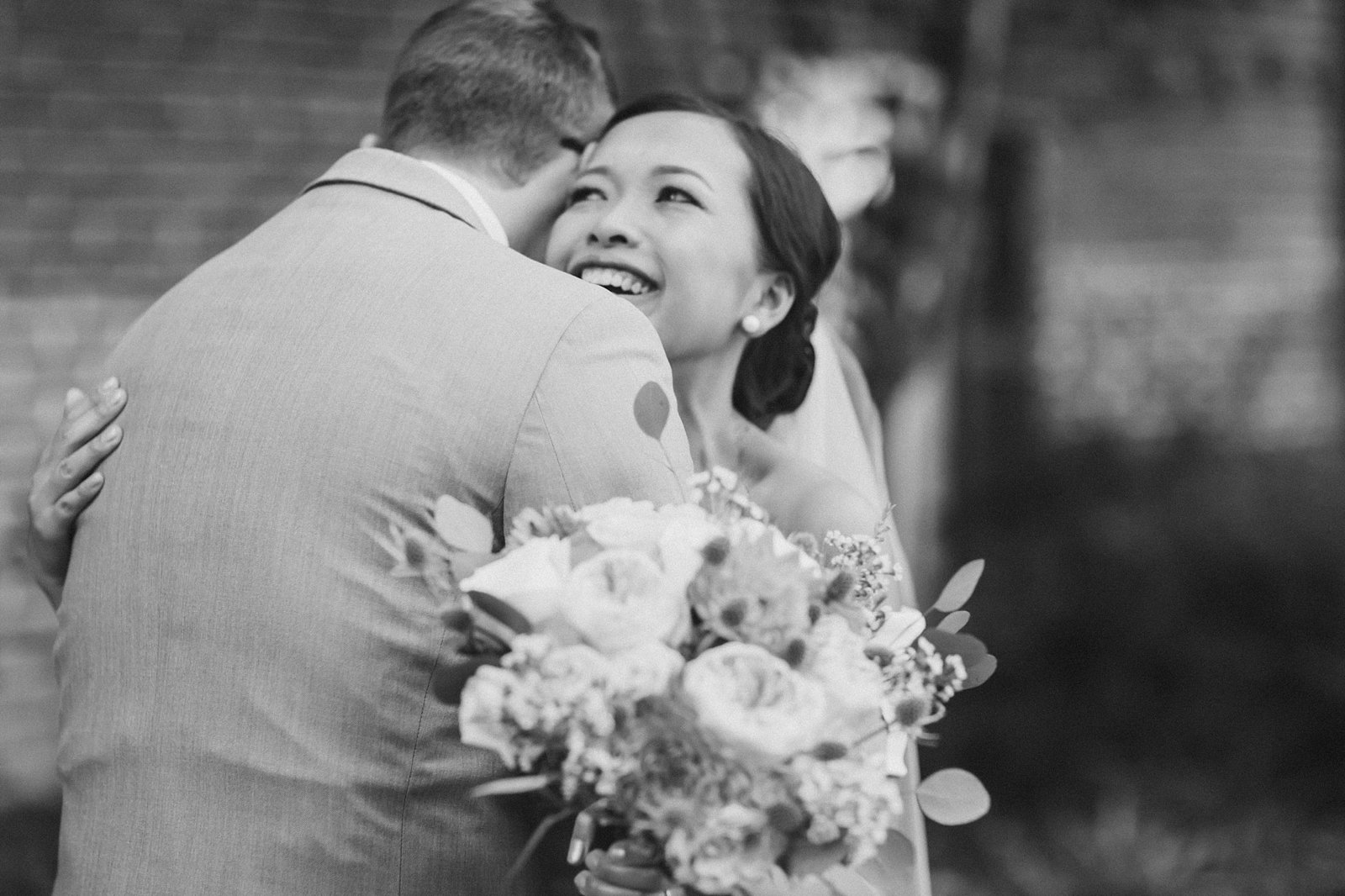 M Harris Studios_Braehead Manor_VA Wedding Photographer_bride and grom hug