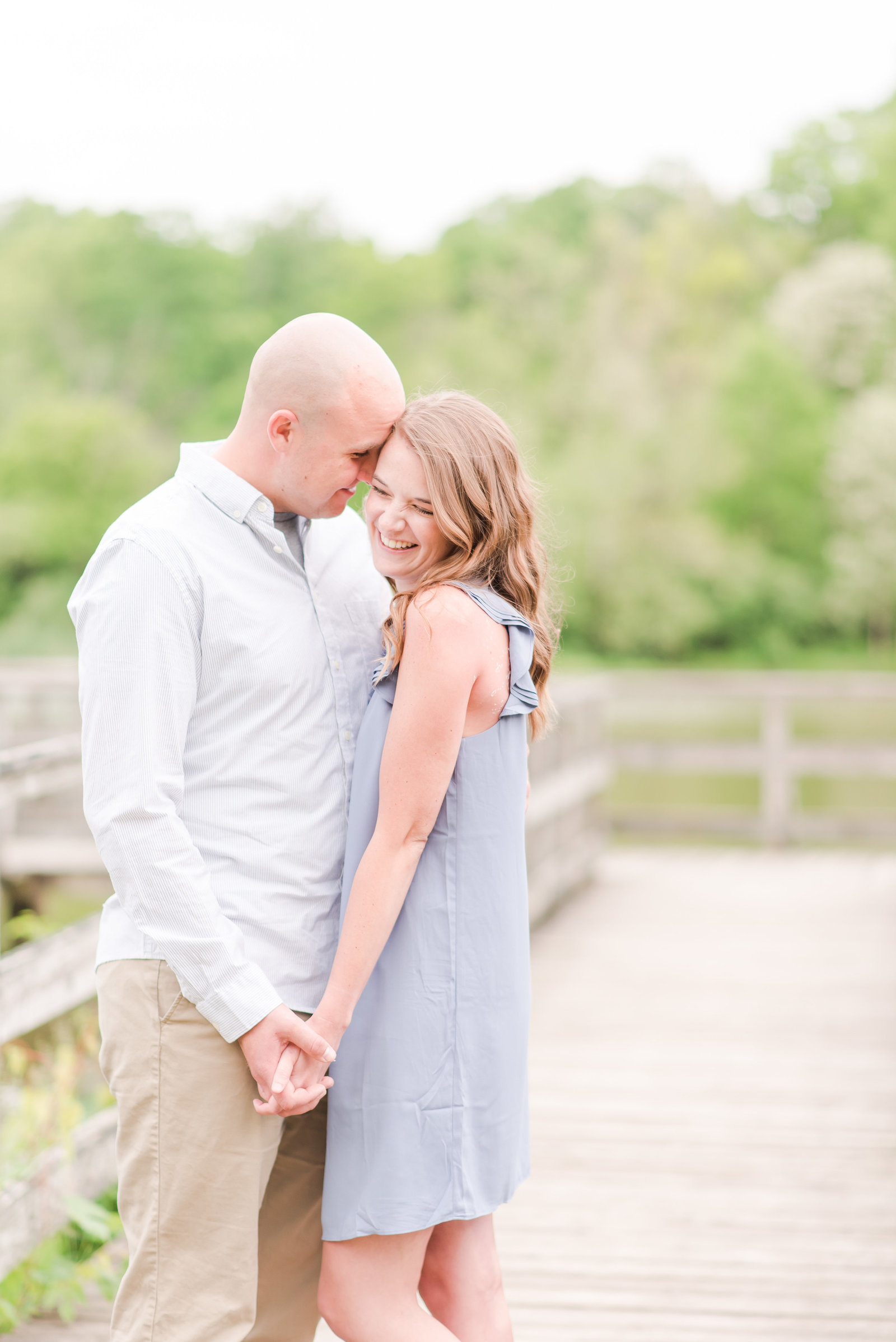 Engagement Session at Fort Harrison State Park
