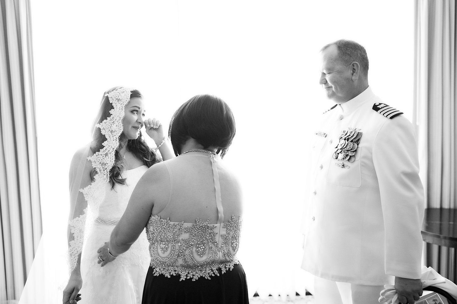 Beautiful Father Daughter Moment on Wedding Day