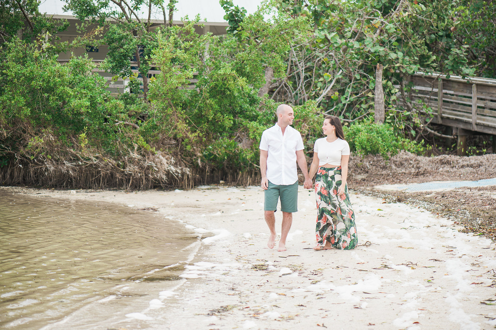 Key Largo Engagement Photography by Palm Beach Photography, Inc.
