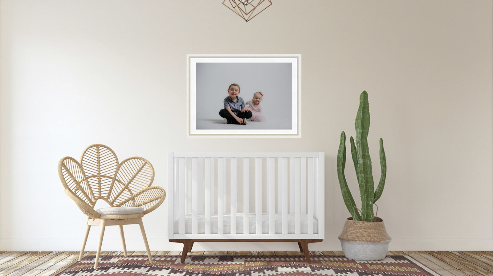 wall gallery nursery