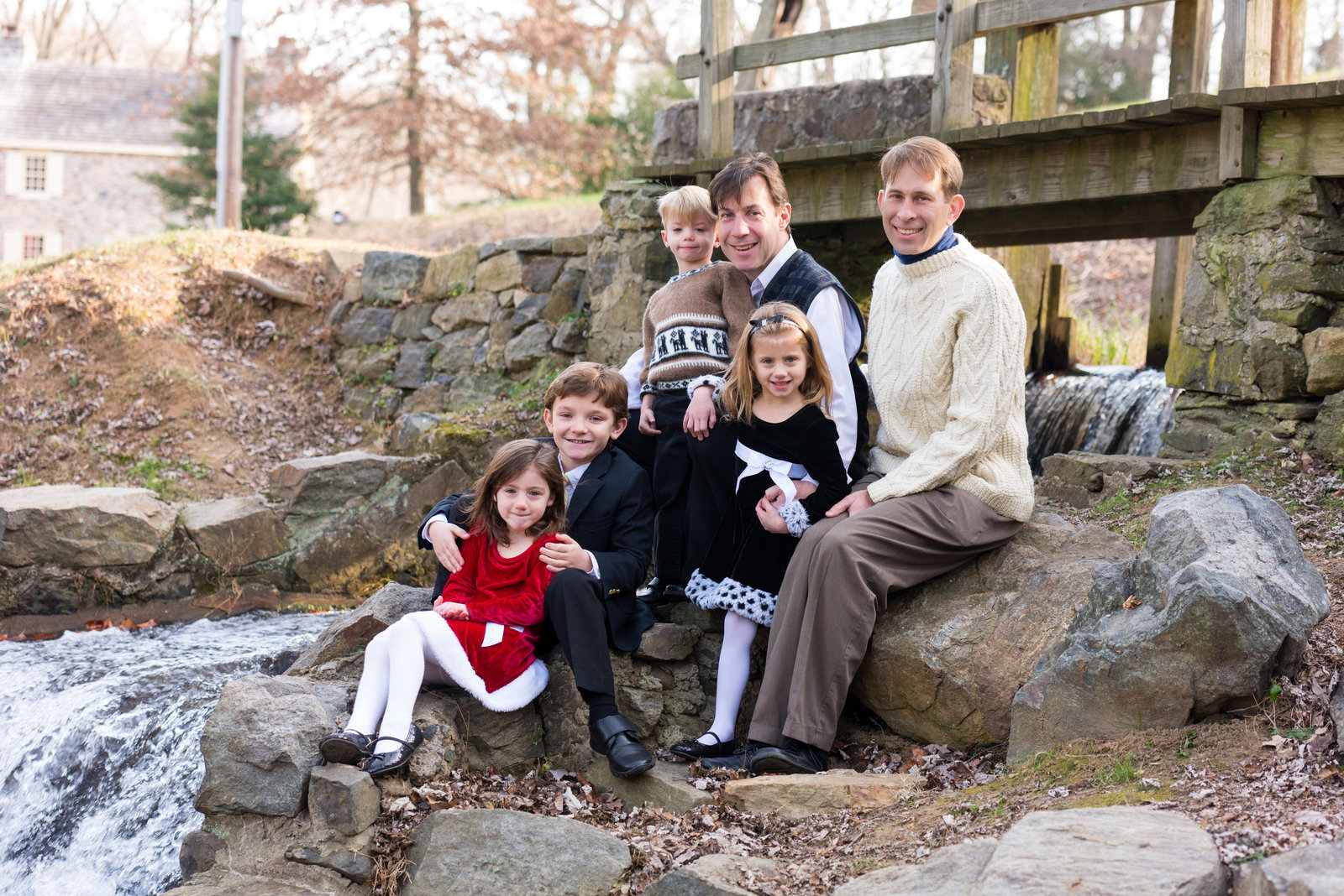 Chester County Fall Family Portraits, Family Portraits, Family Photographer
