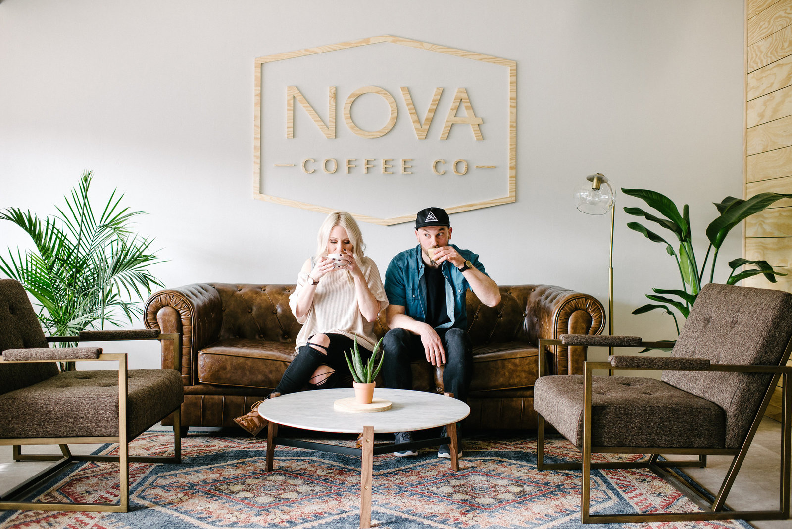 Nova-Coffee-Co-Warren-OH-Engagement-Session