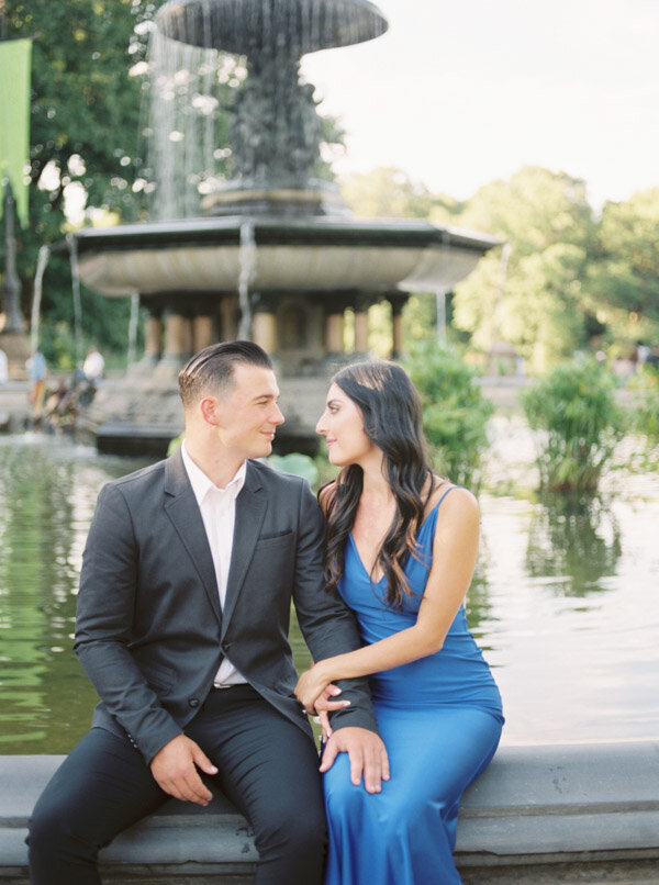 Engagement session in Central Park NYC