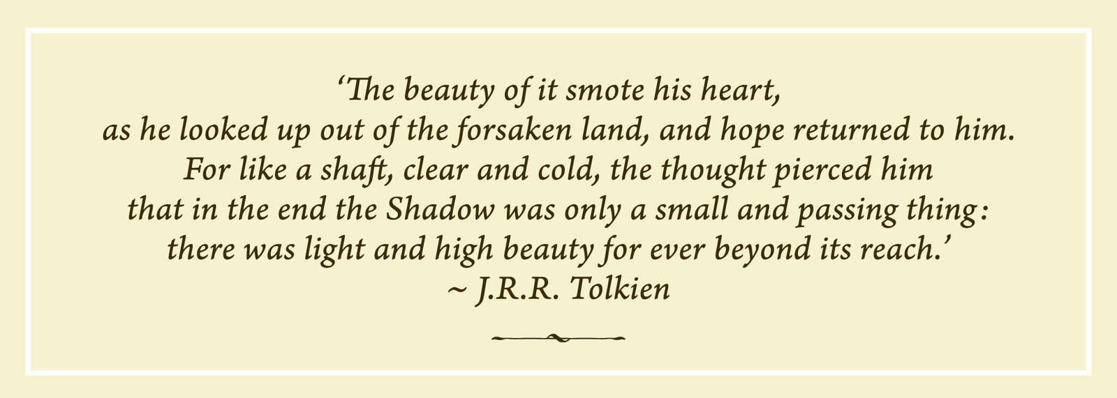 Bookmark 3 Tolkien