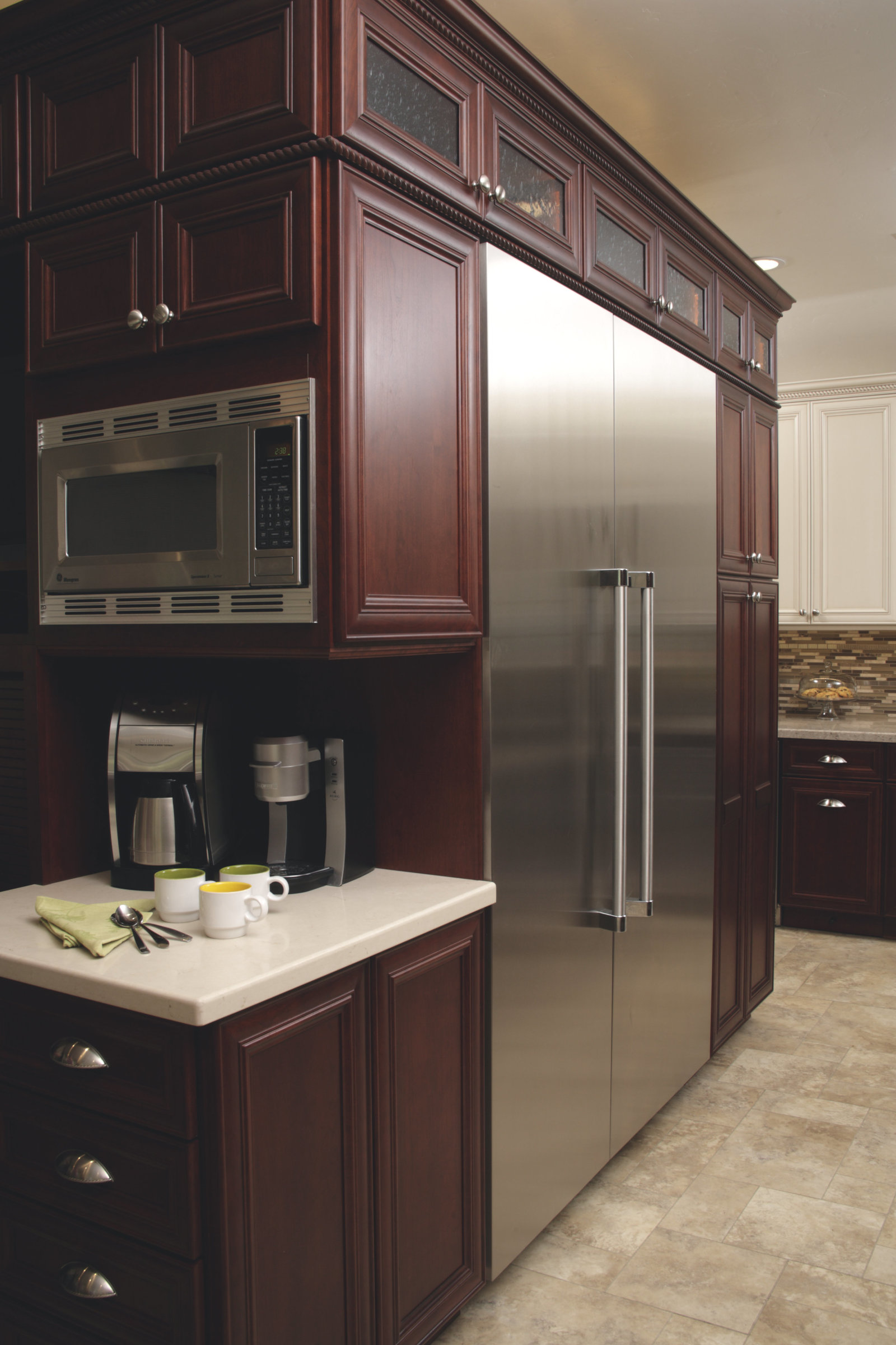 Baker's Dream Kitchen Custom Cabinetry Design