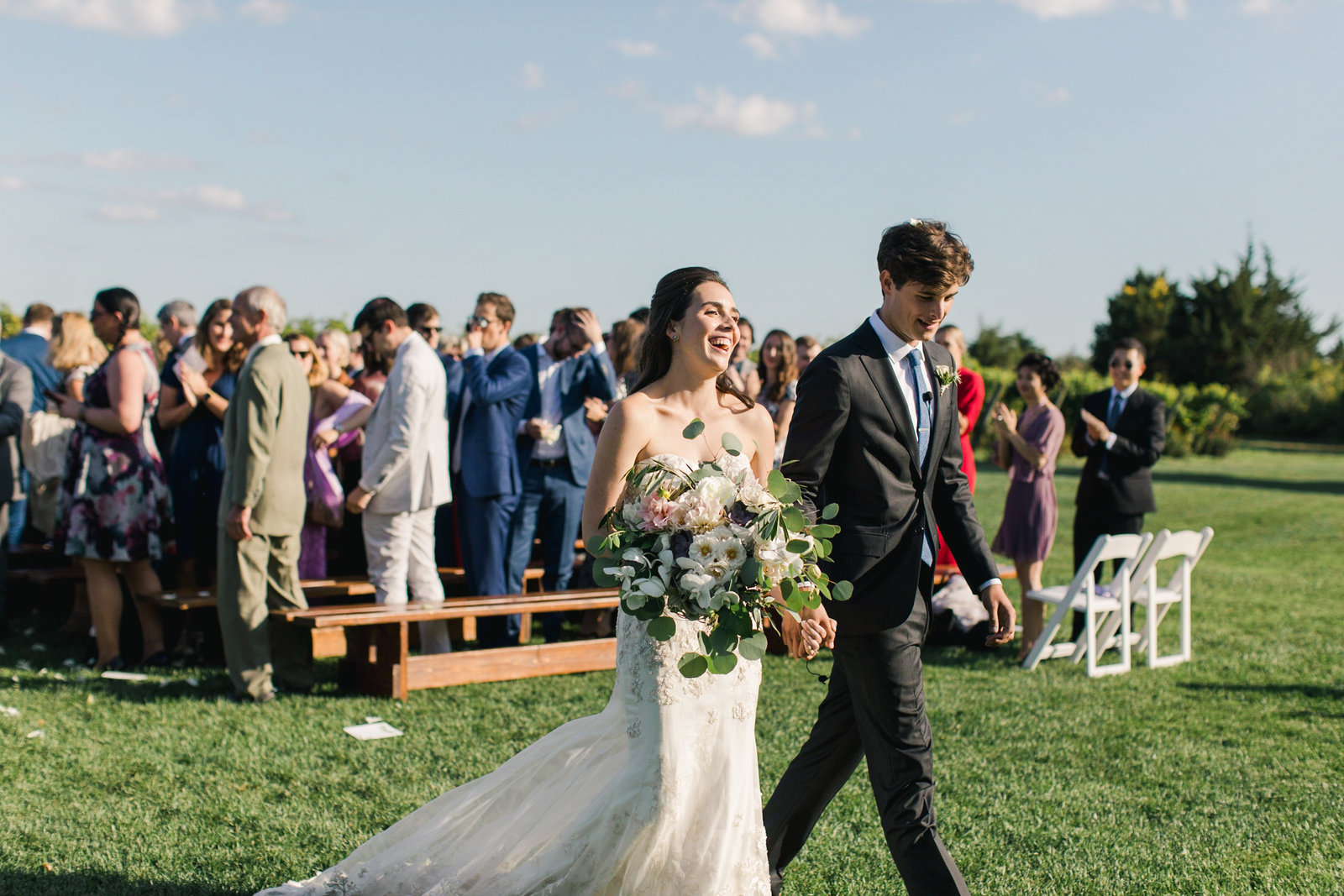 Saltwater Farm Vineyard Wedding_Outdoor Ceremony 8