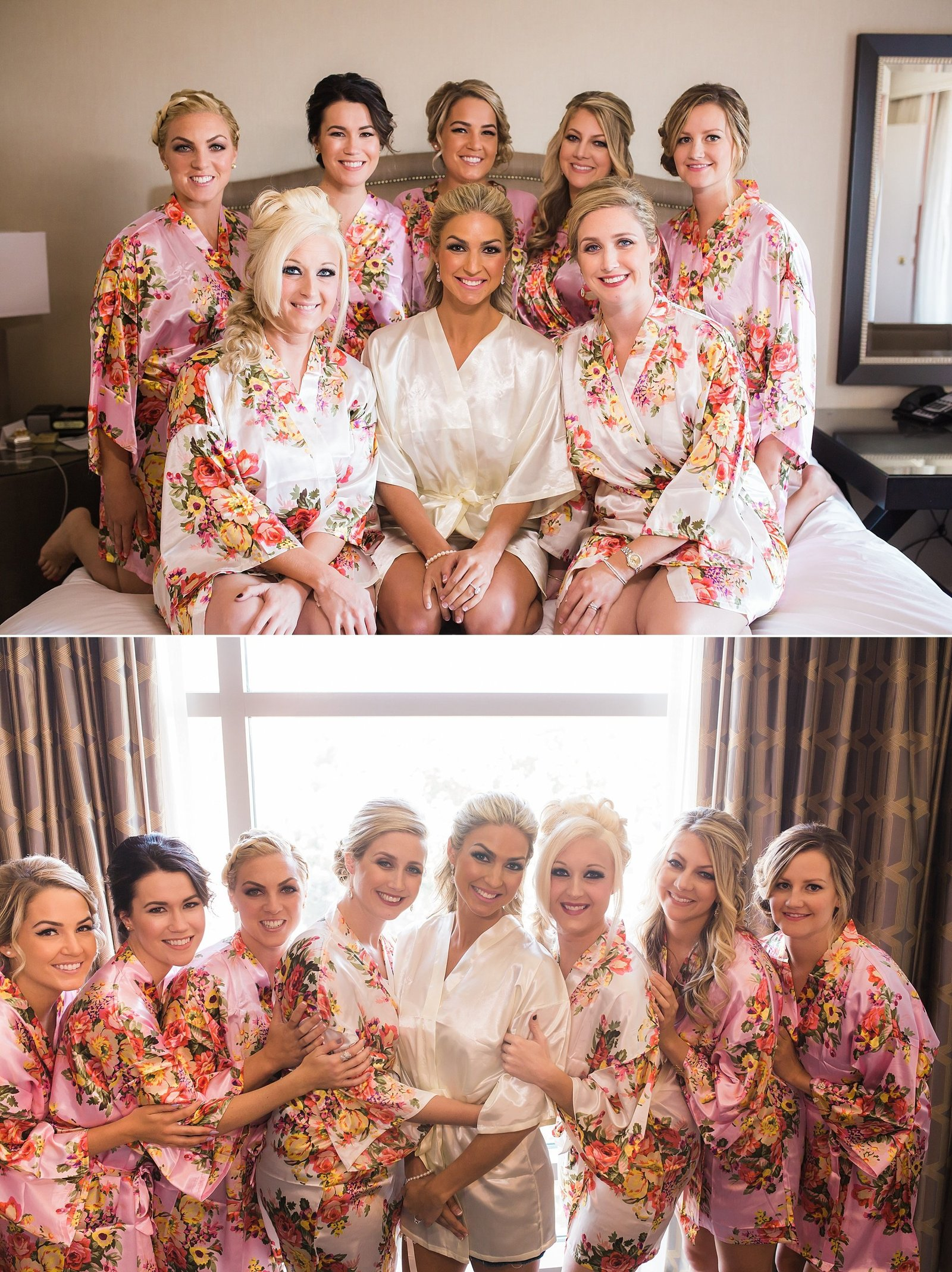 M Harris Studios_Trump National Golf Club Wedding_bridesmaids getting ready