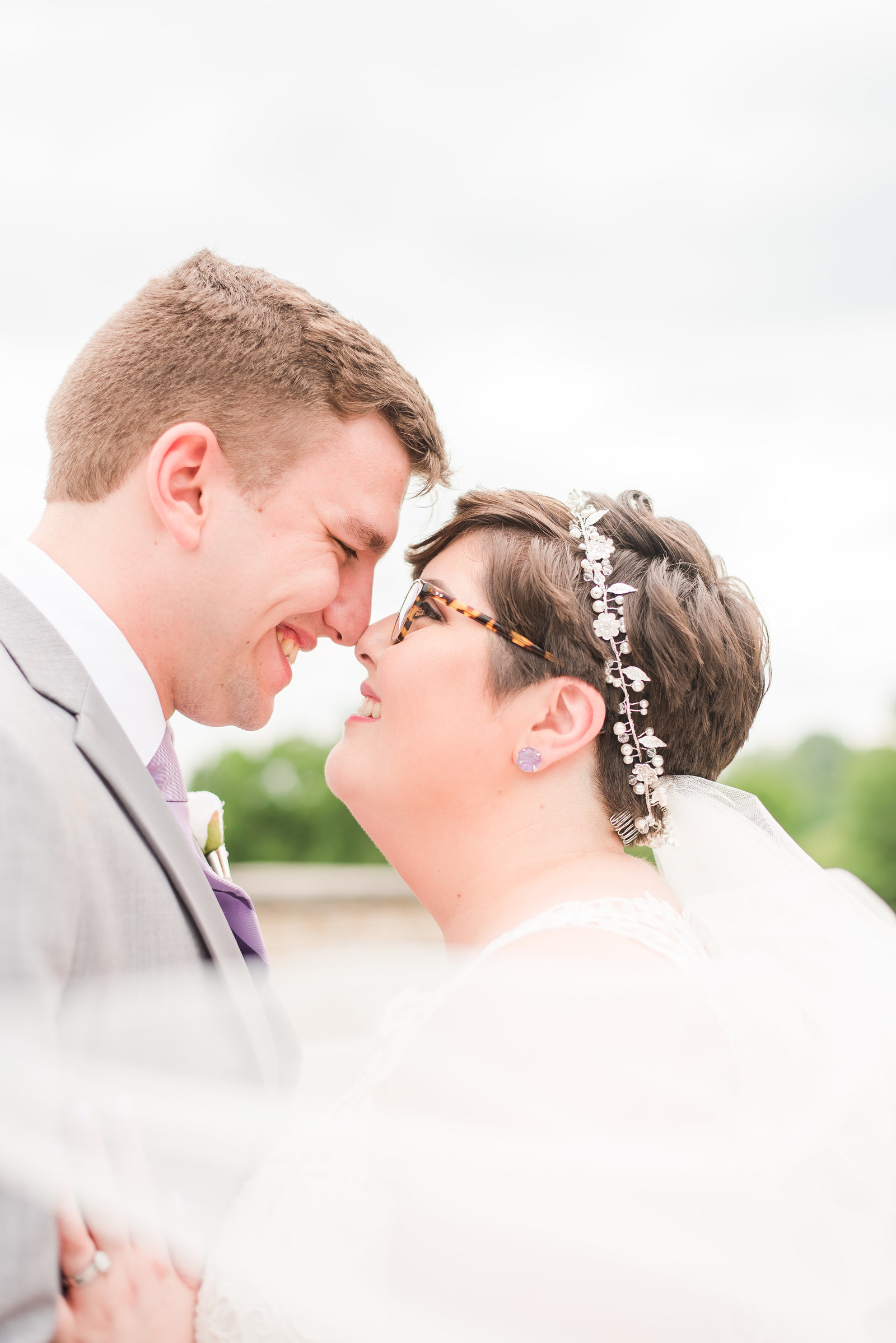 Lavender Wedding at Hawthorns Country Club