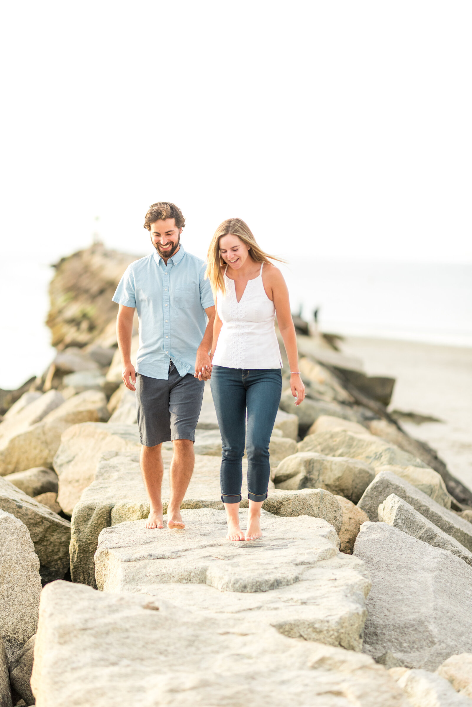 Cold Storage Beach Engagement 0027