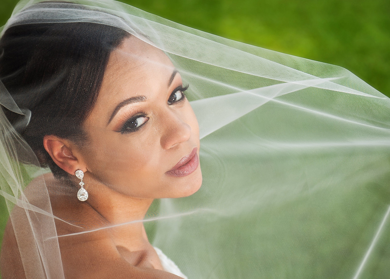 texas hill country bride boerne texas under veil