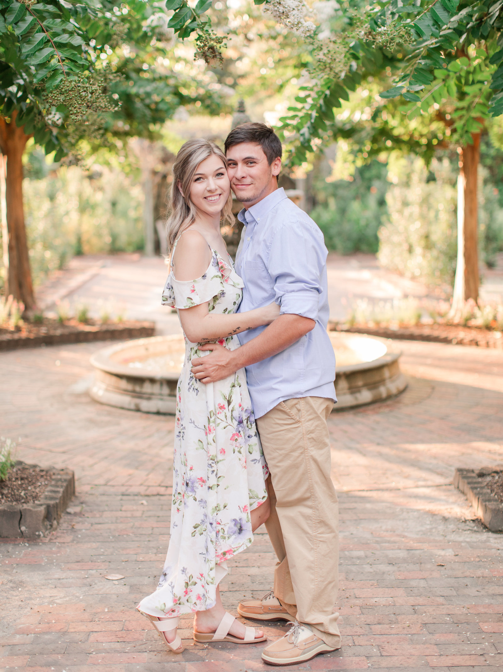 Jennifer B Photography-Sandhills Horticultural Gardens Engagement-Pinehurst NC-Cody and Kayla-2019-0078