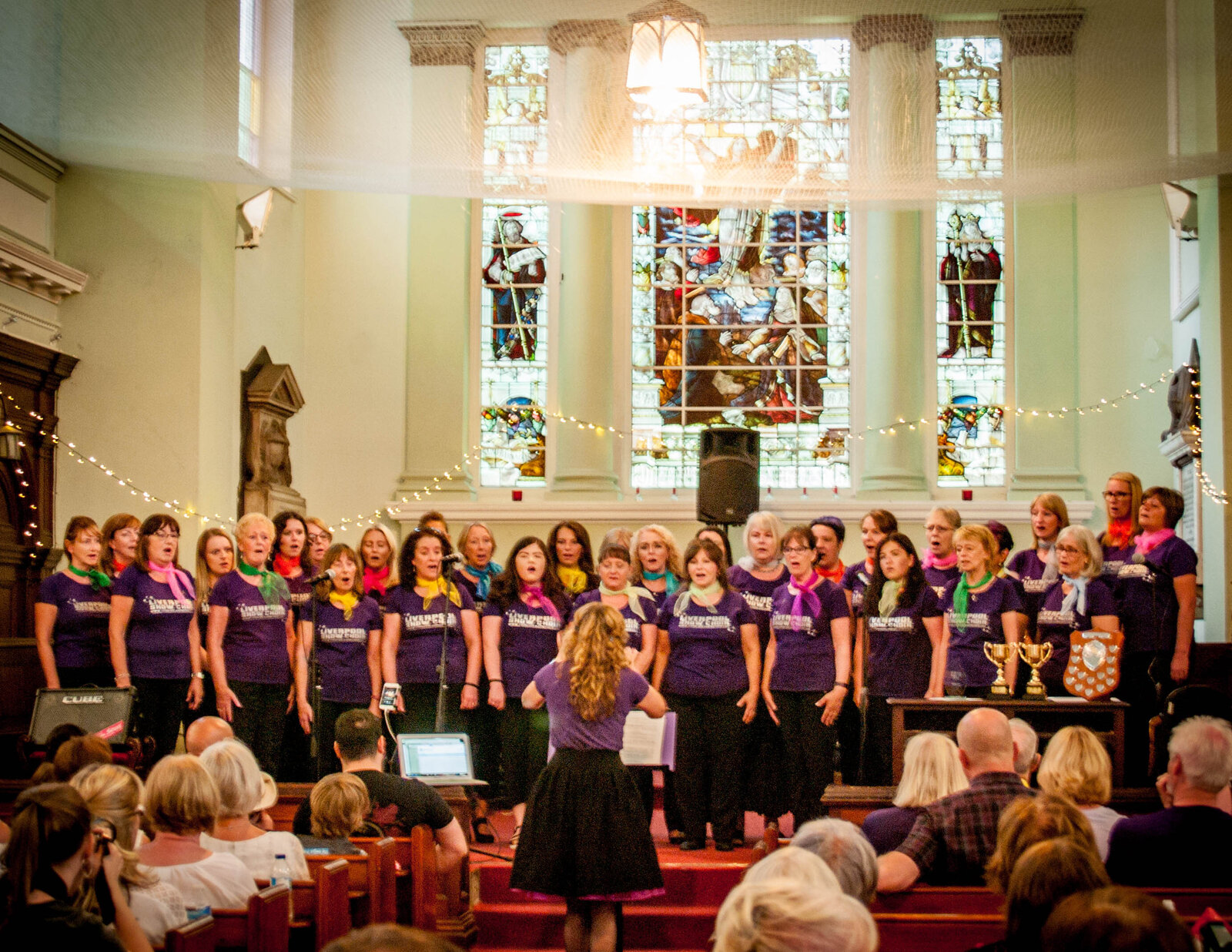 liverpool show choir  St Brides