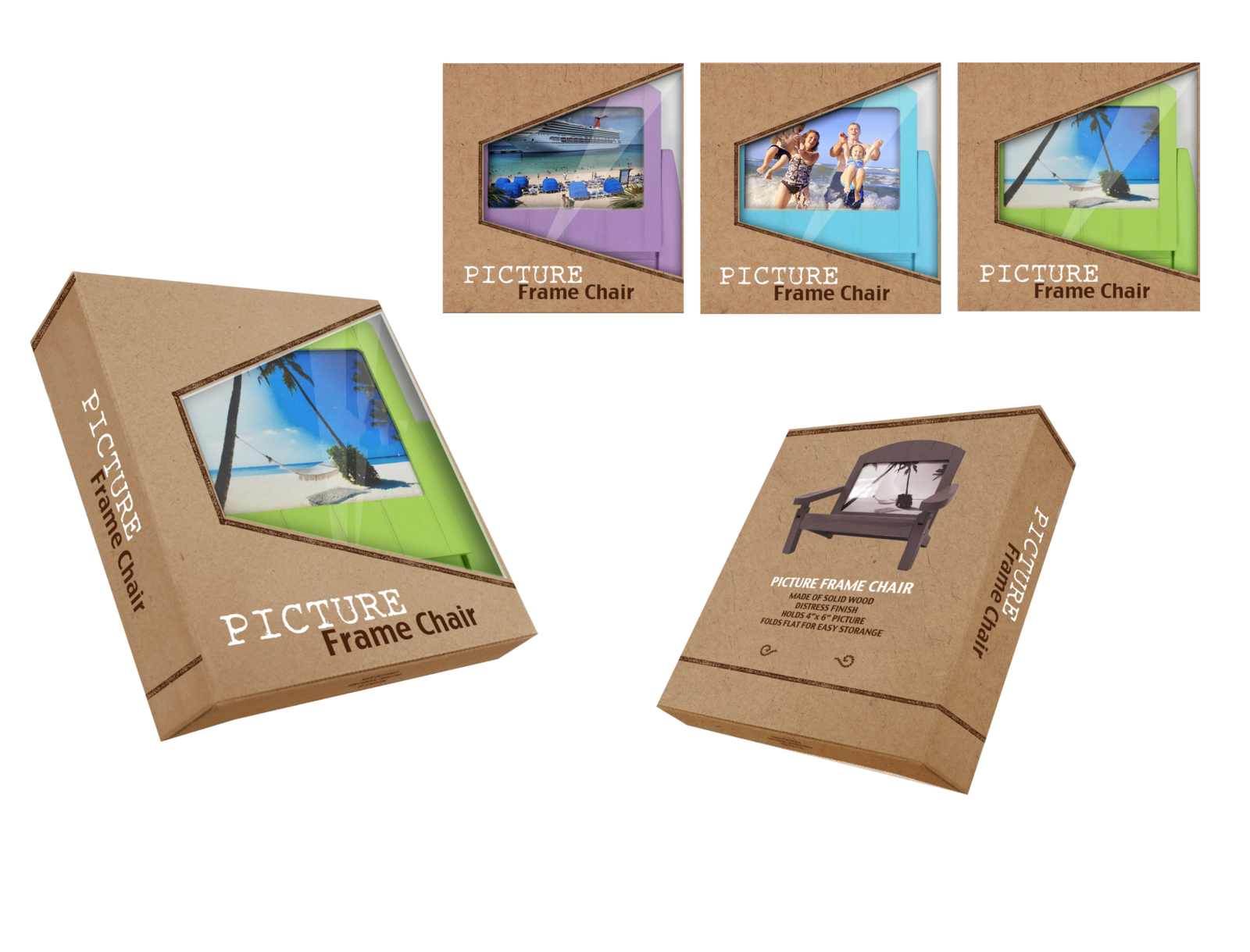 FOLDABLE PICTURE FRAME CHAIR-PACKAGING-PRESENTATION-REV1