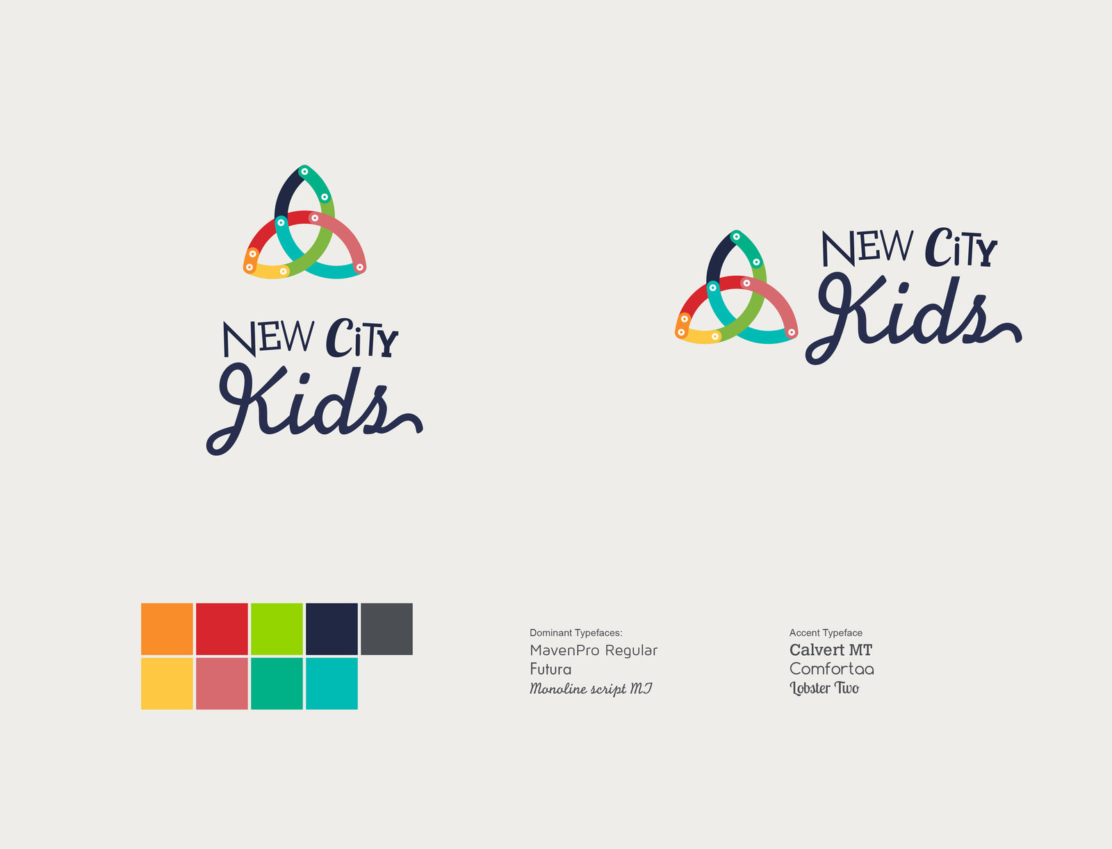 New City Kids branding