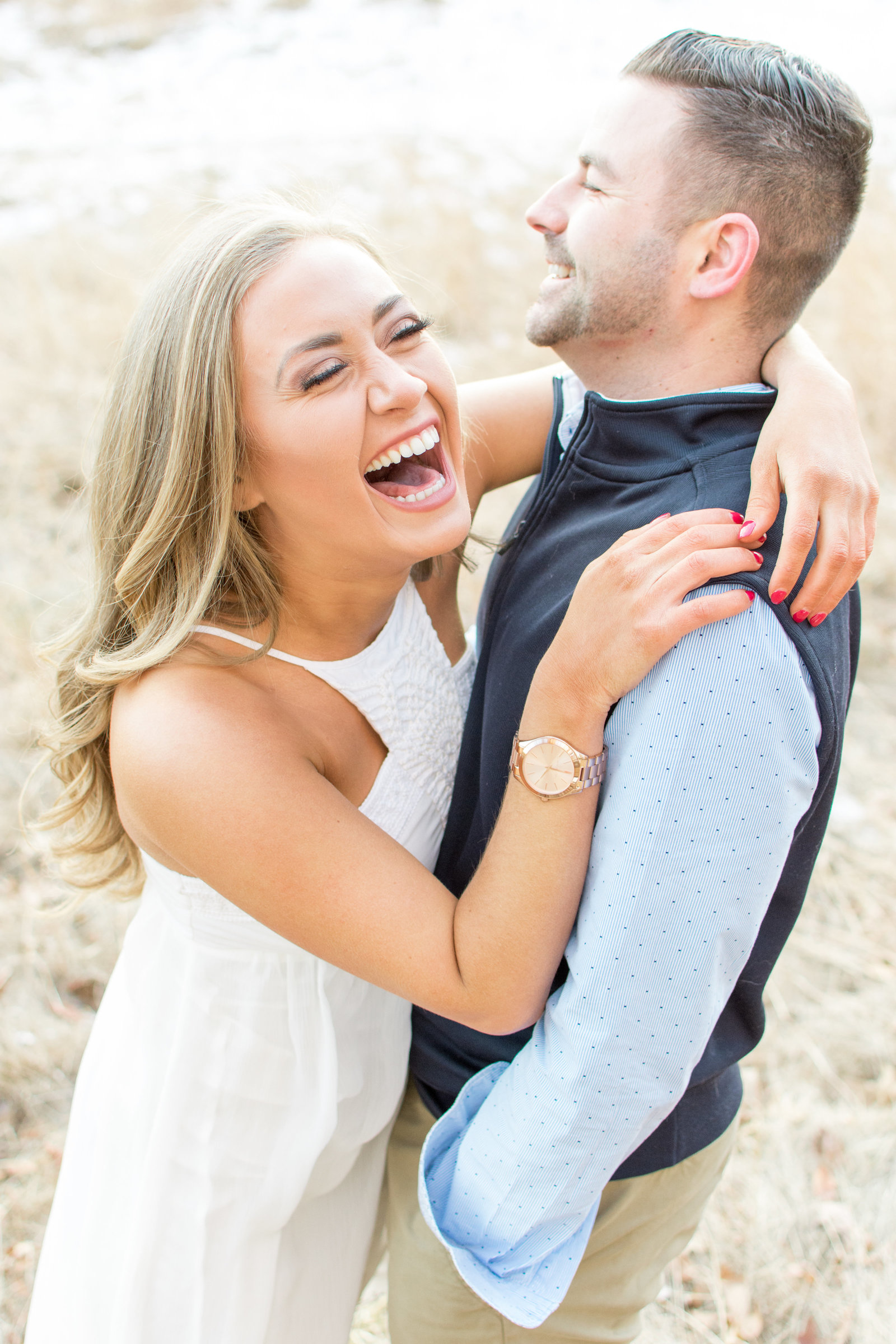 Adorable Laughing Couple