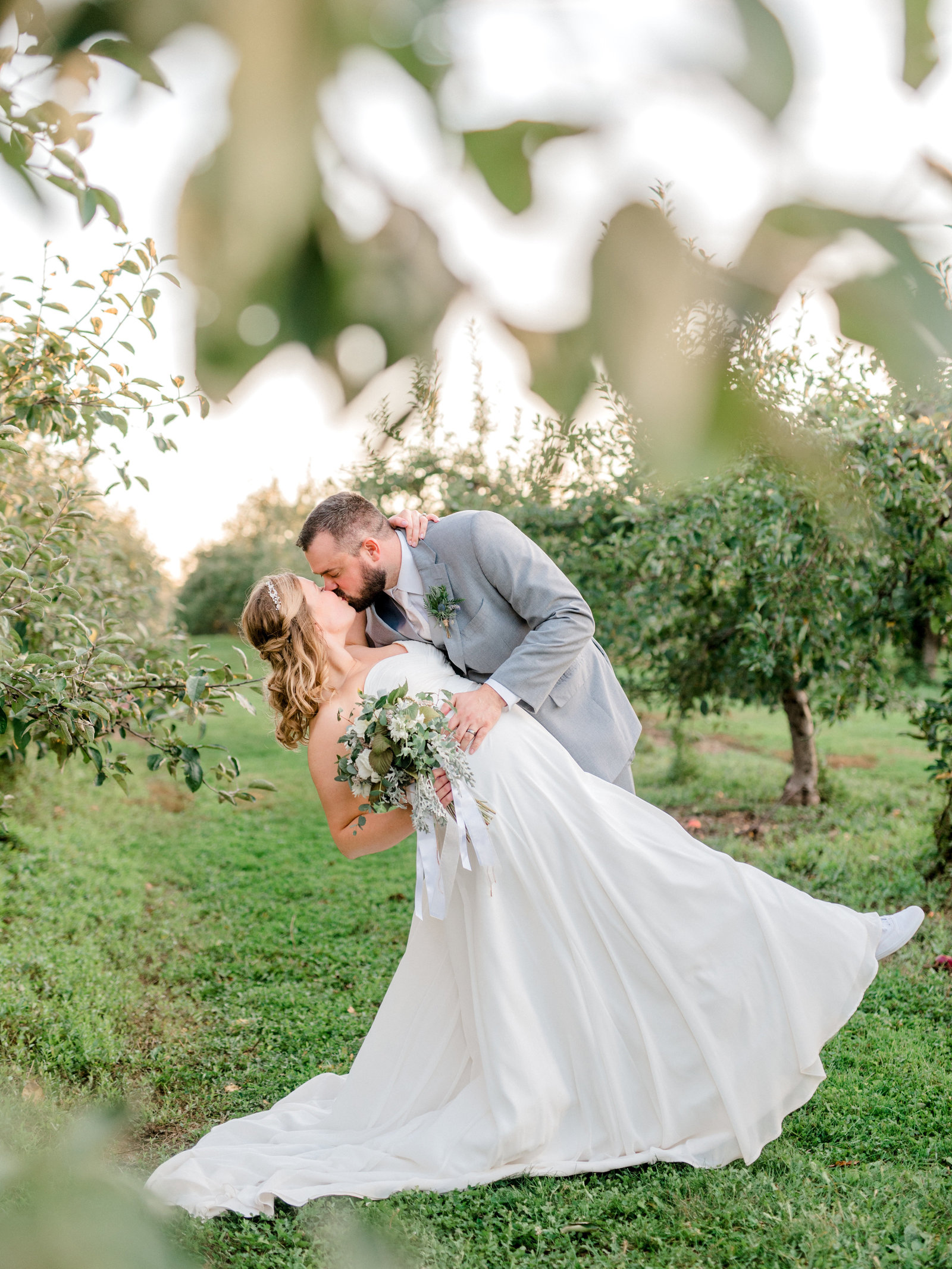 Buffalo Fall Wedding at Becker Farms
