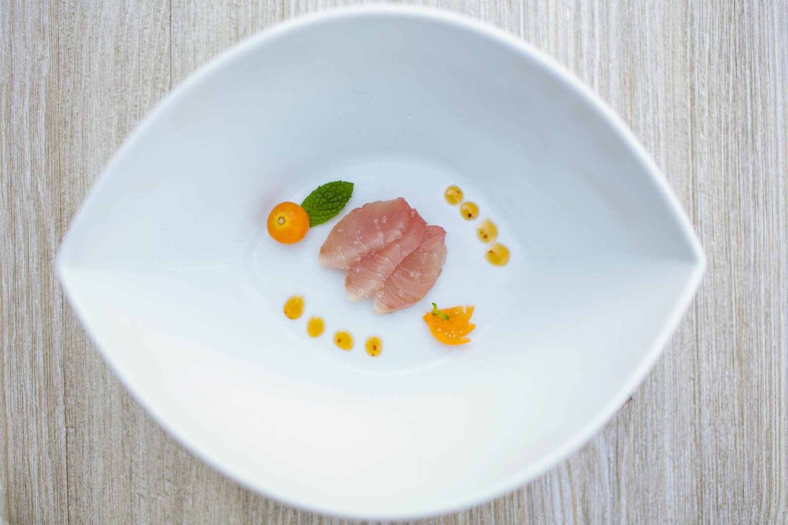 Sashimi is styled and photographed by Charleston food Photographer, Kate Timbers.