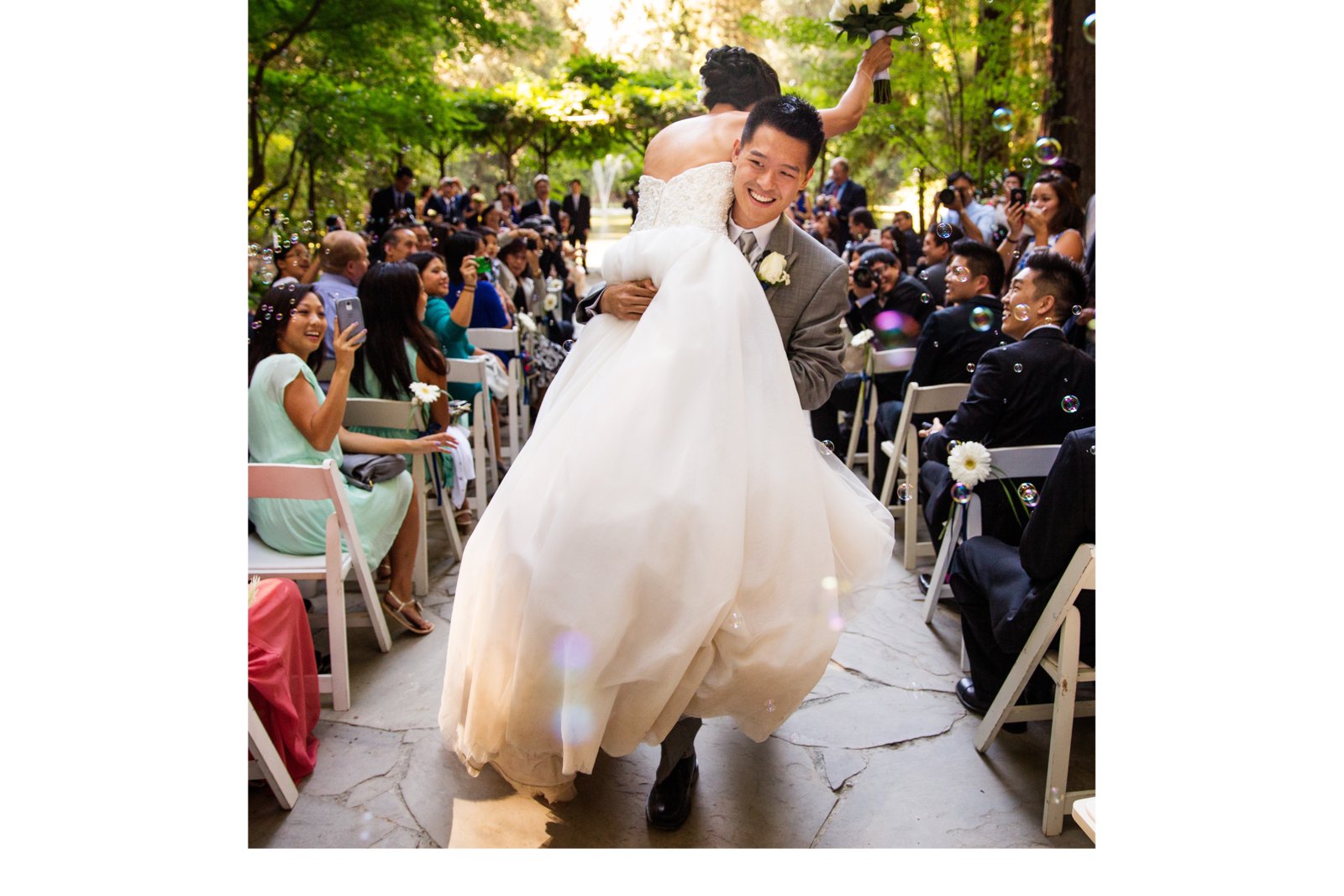 nestldown wedding forest los gatos california 8