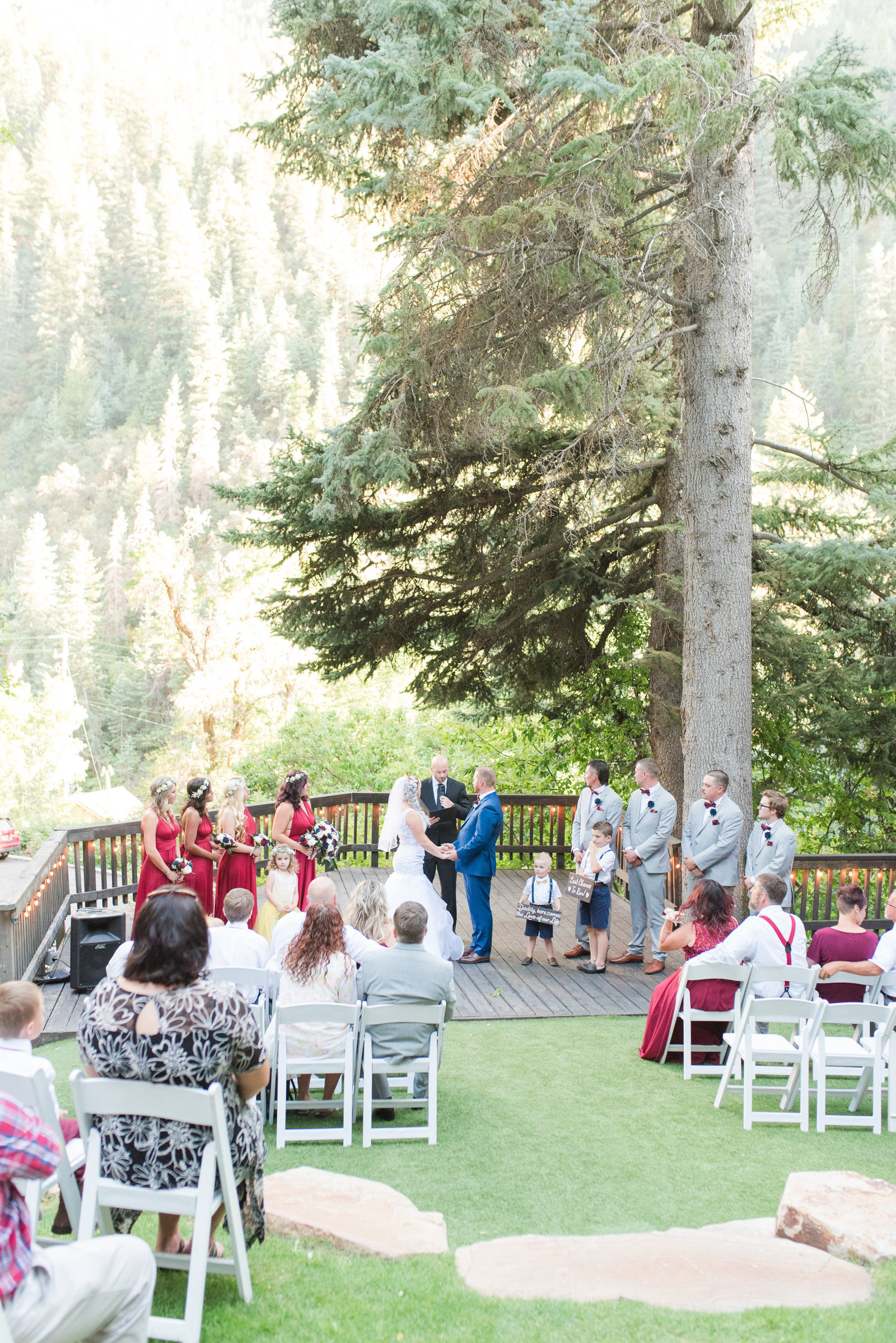 Log Haven Summer Mountain Wedding_079