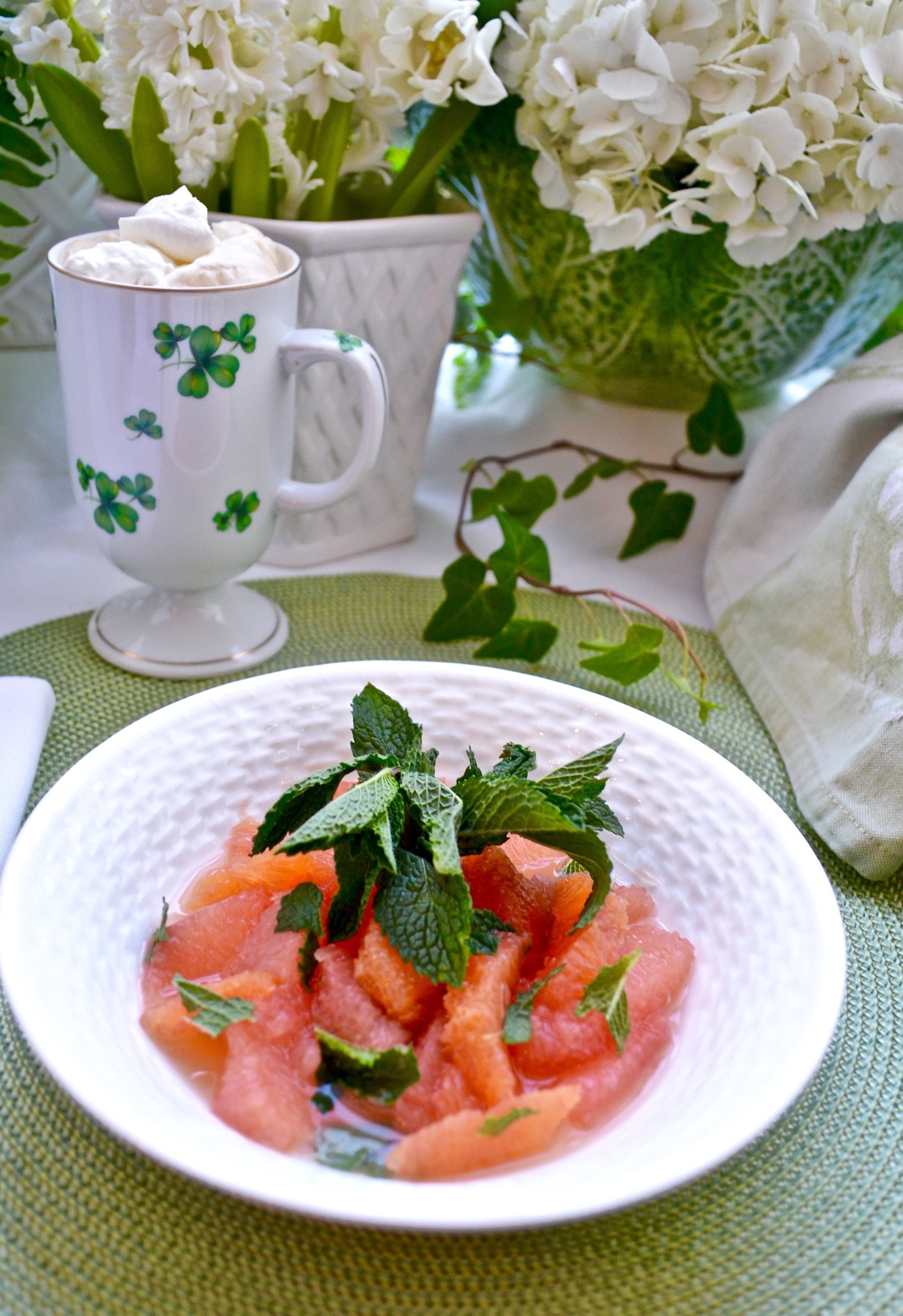 Citrus Fruit Salad Brunch Recipes
