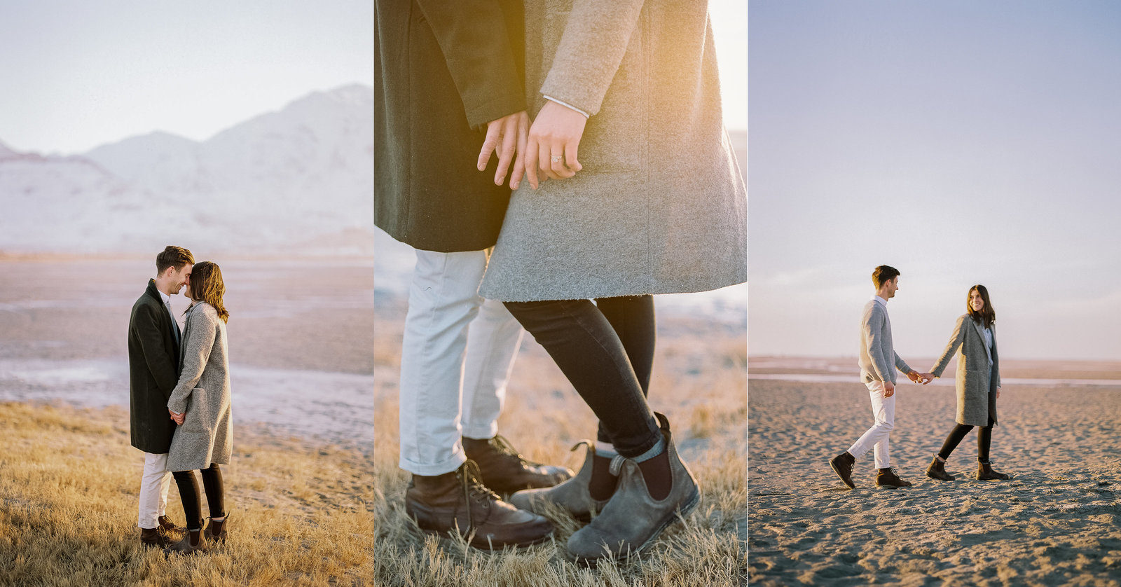 Braden & Alynn, Great Salt Lake Engagements