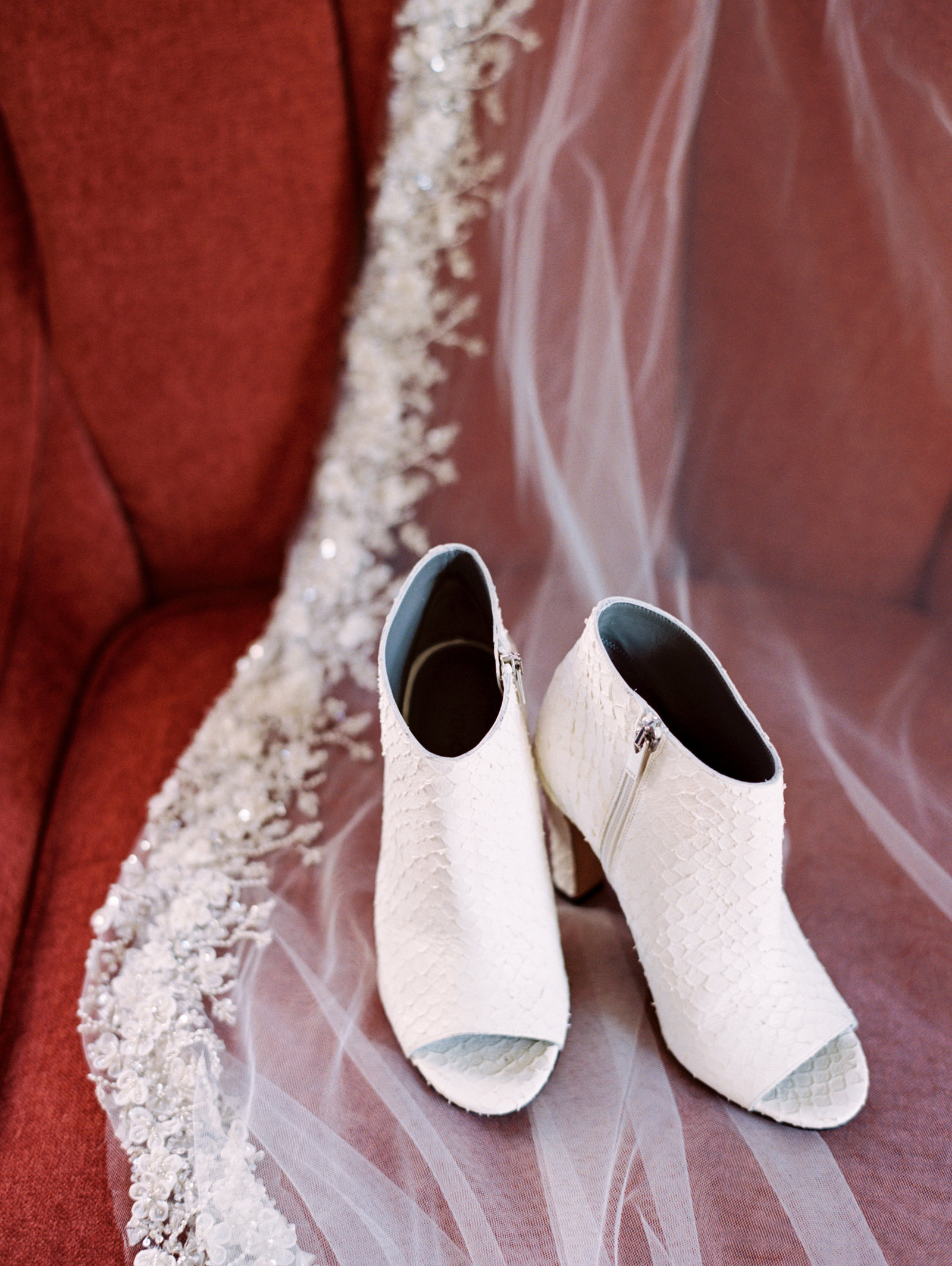 high end wedding day heels
