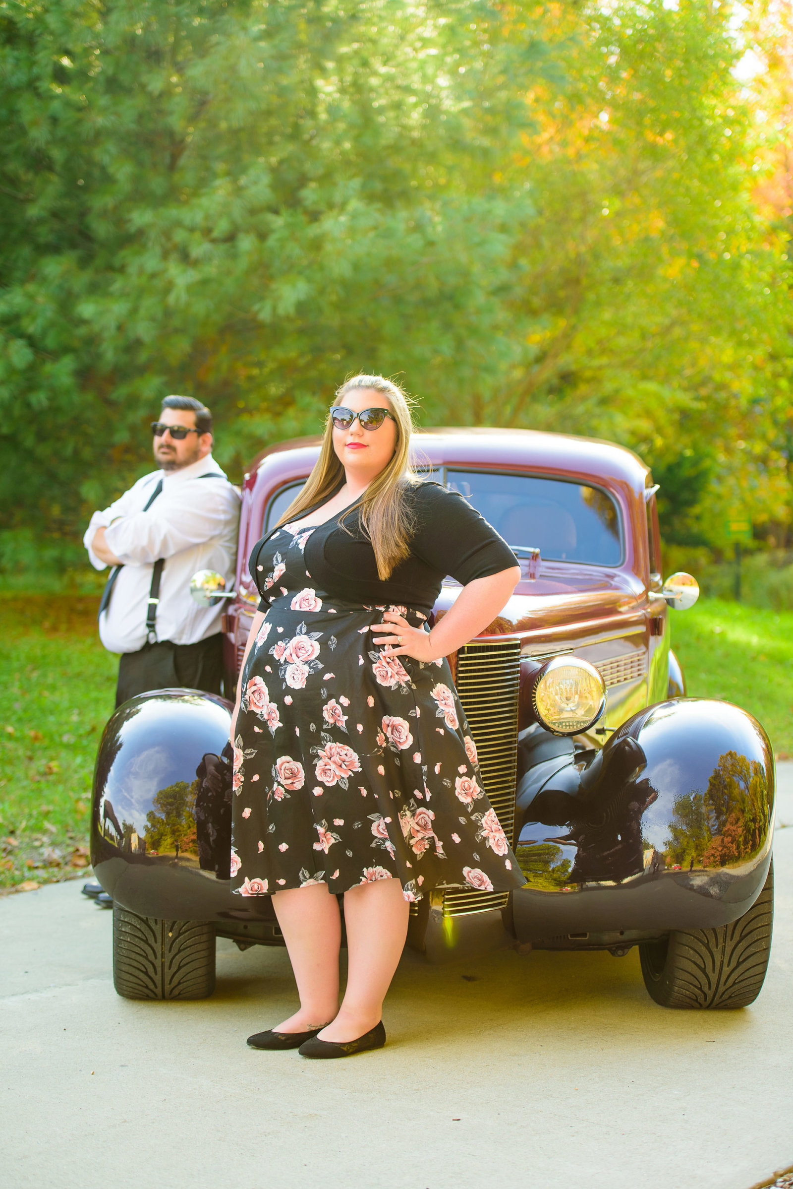 Retro_Pinup_Car_engagement_session_Nj010